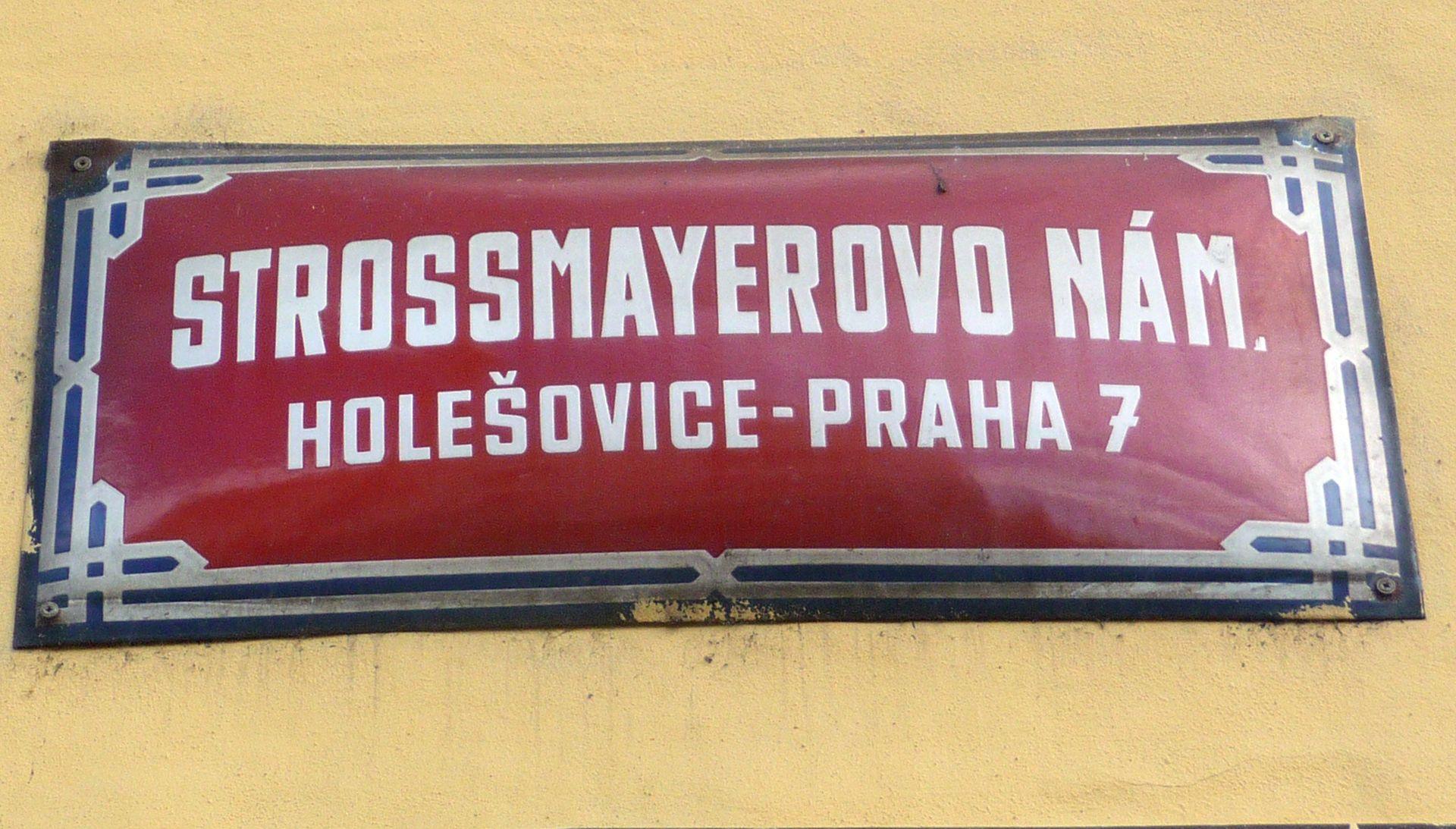 U Pragu podignuta spomen-ploča u čast Josipa Jurja Strossmayera