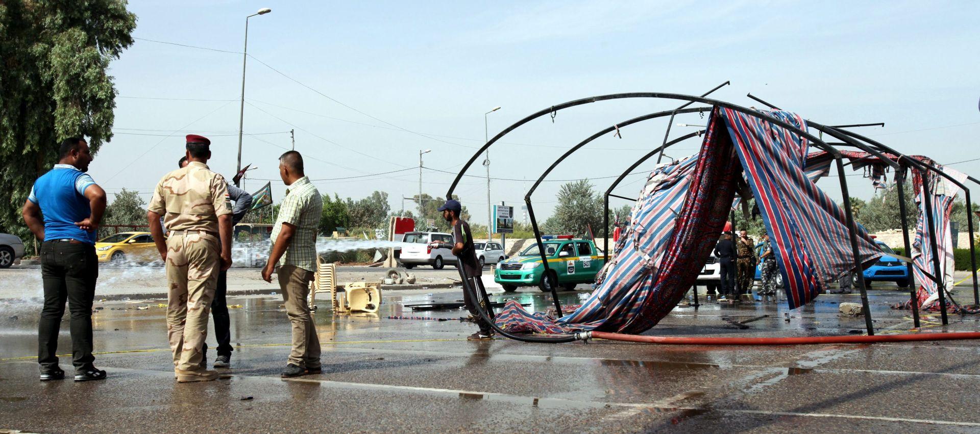 Bombaš samoubojica napao šijitsku povorku u Bagdadu, dvoje ubijenih