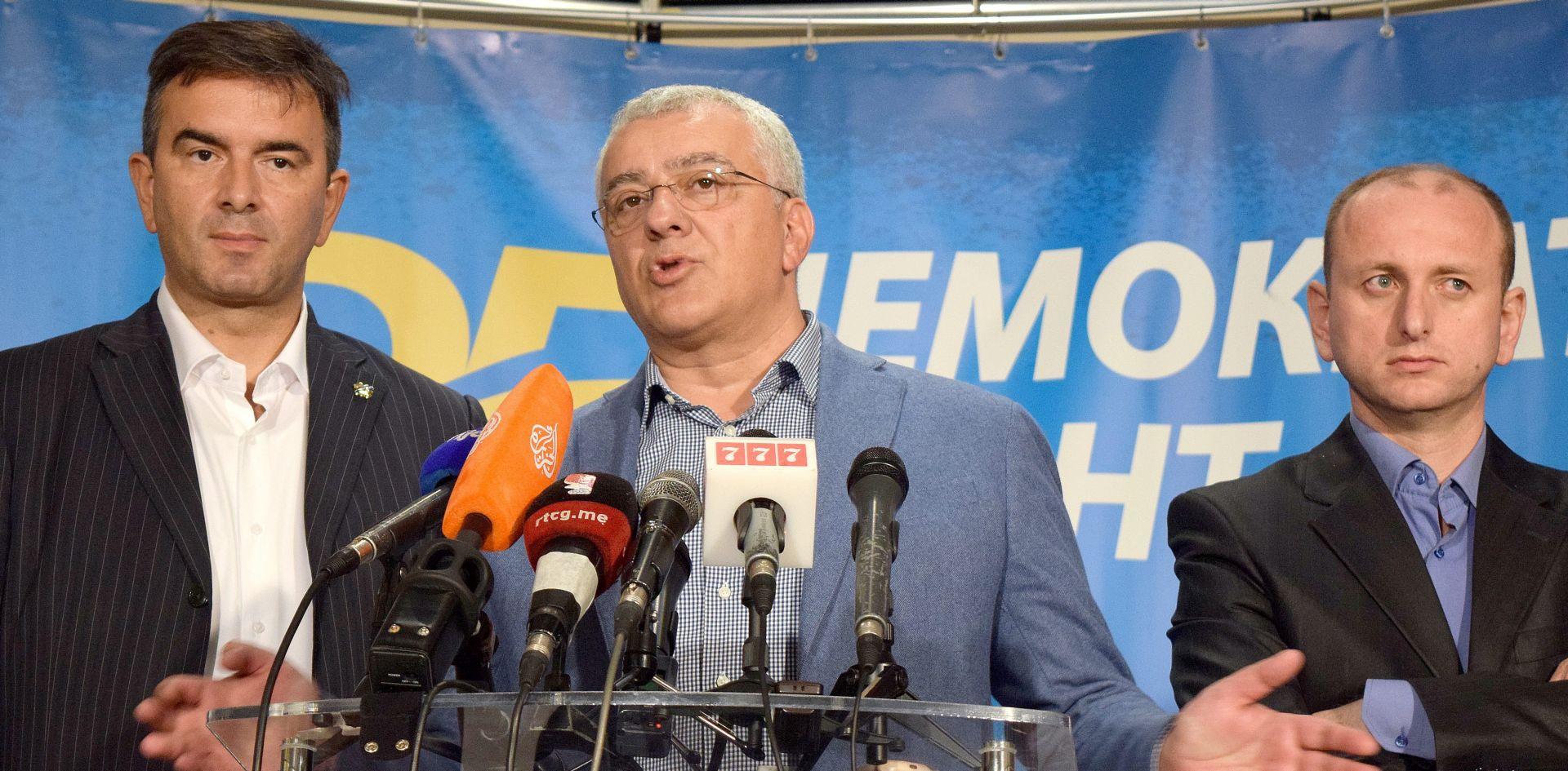 Crnogorska oporba ne priznaje rezultate izbora