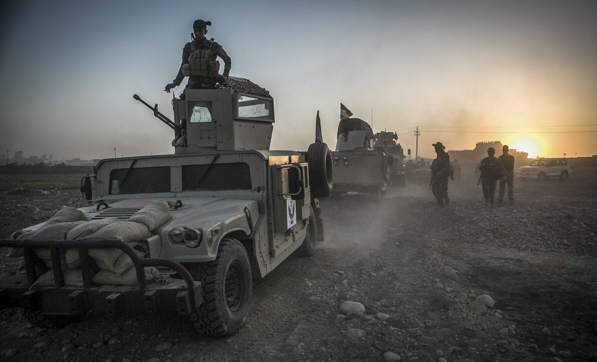 Iračke snage napreduju u ofenzivi na Mosul
