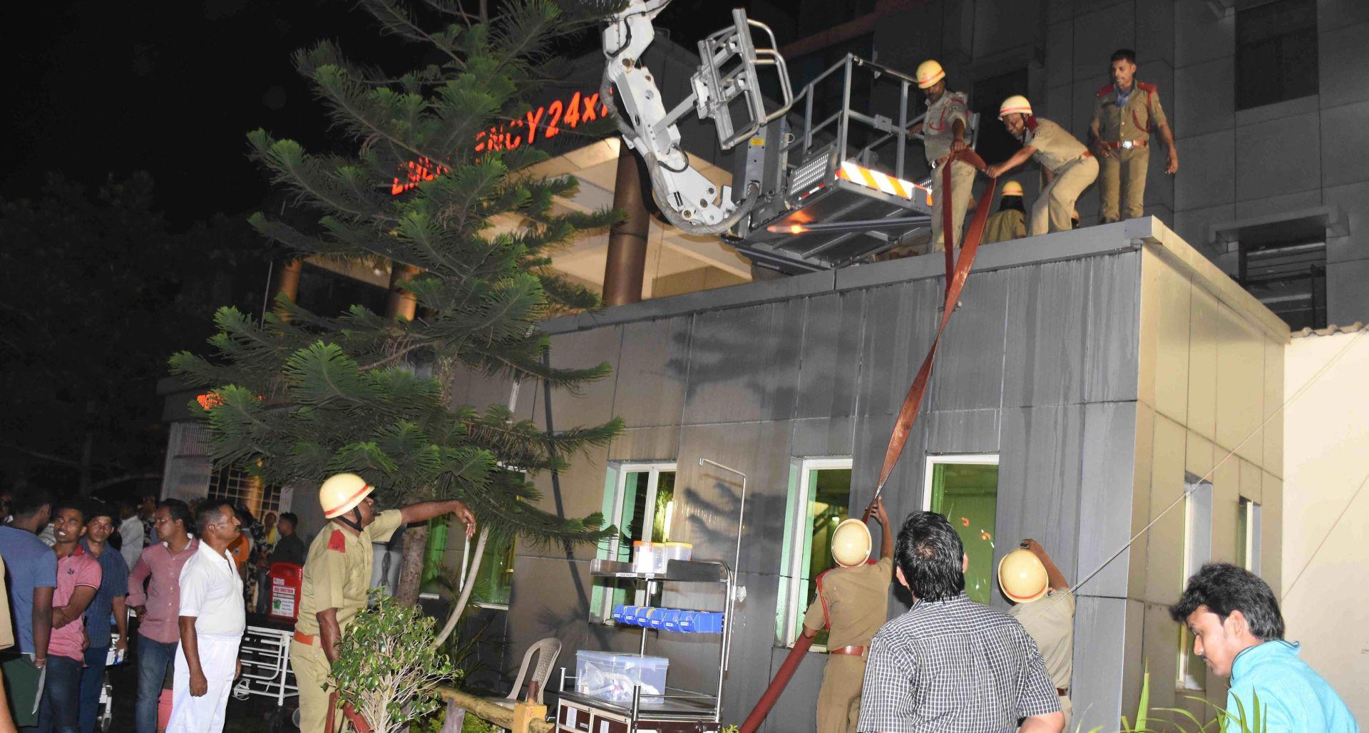 INDIJA Požar u bolnici – najmanje 20 mrtvih, 100 ozlijeđenih