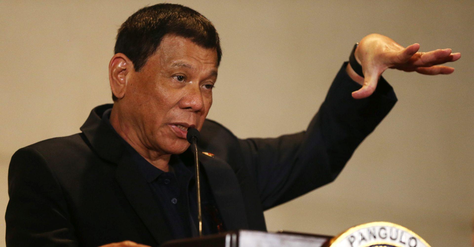 FILIPINSKI PREDSJEDNIK 'Bombardirat ću škole koje rade ilegalno i uče djecu da se bore protiv vlade'