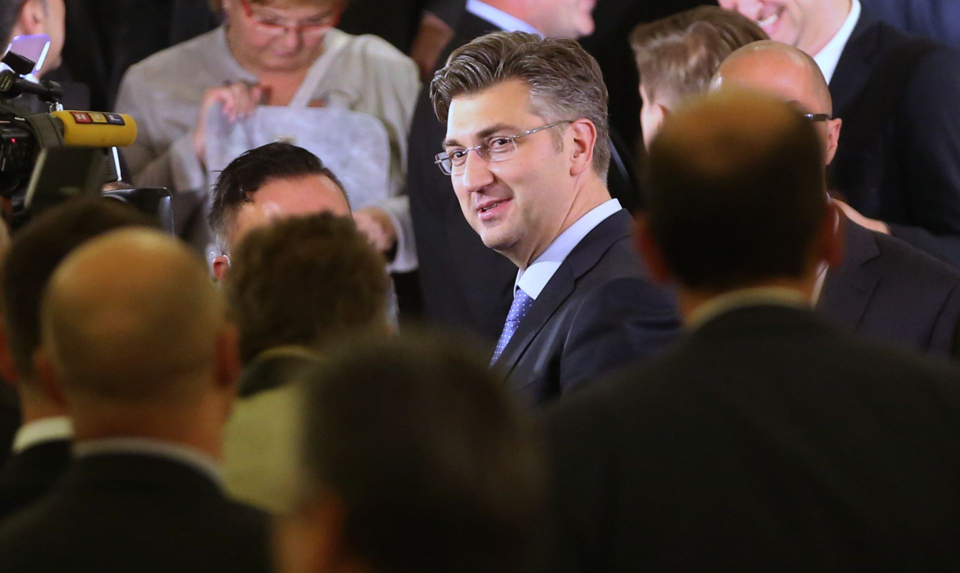 SVJETSKE AGENCIJE: Široka potpora u Saboru daje stabilnost Plenkovićevoj vladi