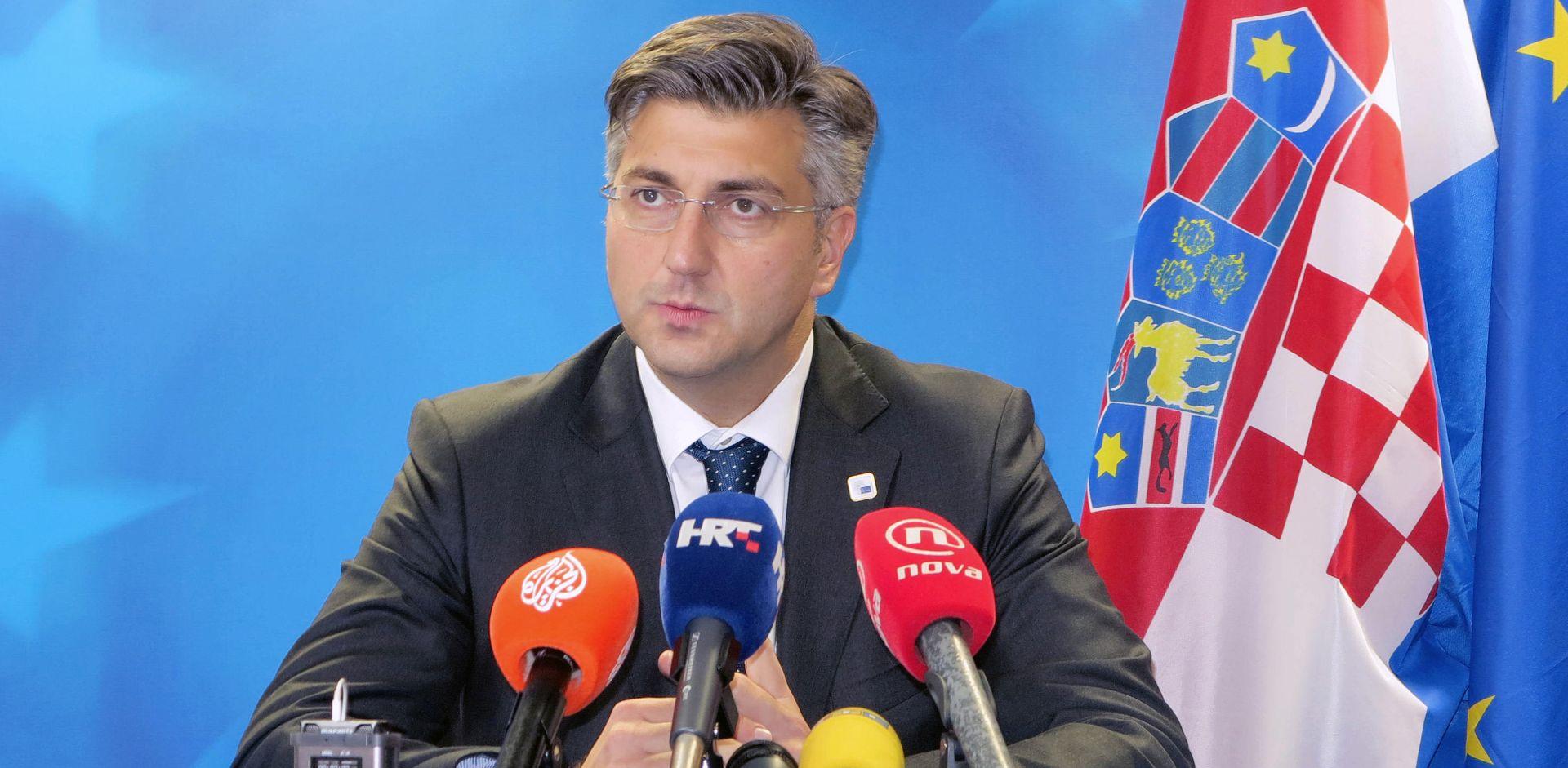 """Plenković ponovio: """"HDZ će se financirati zakonito i transparentno"""""""