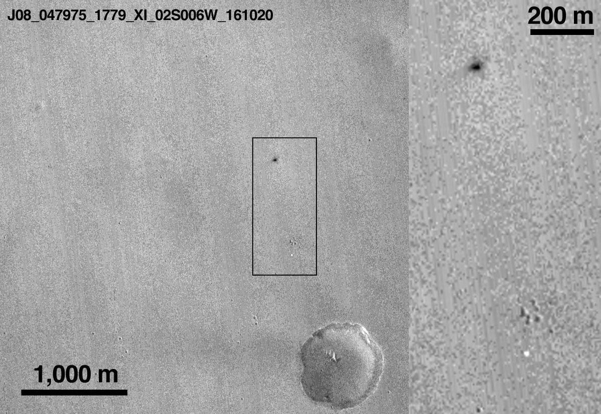 ESA: Europski modul Schiaparelli razbio se o površinu Marsa