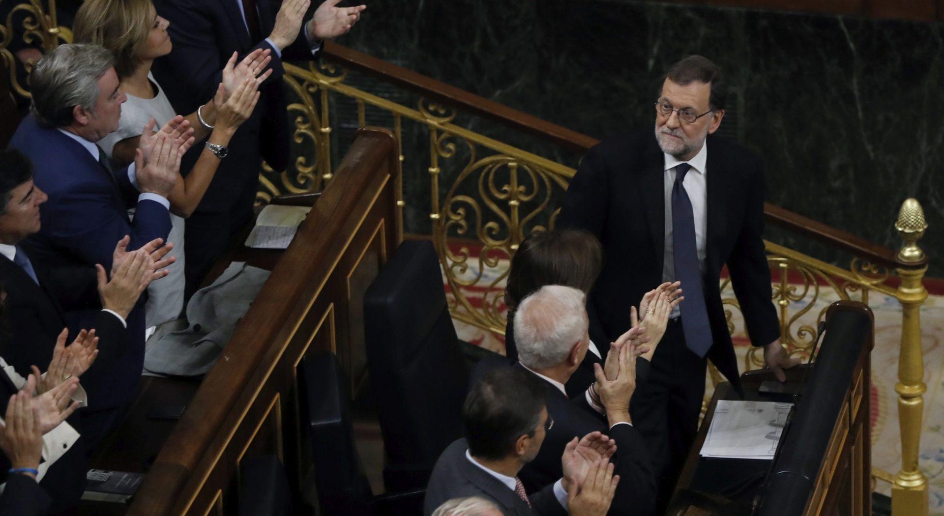 Rajoyeva vlada dobila povjerenje parlamenta