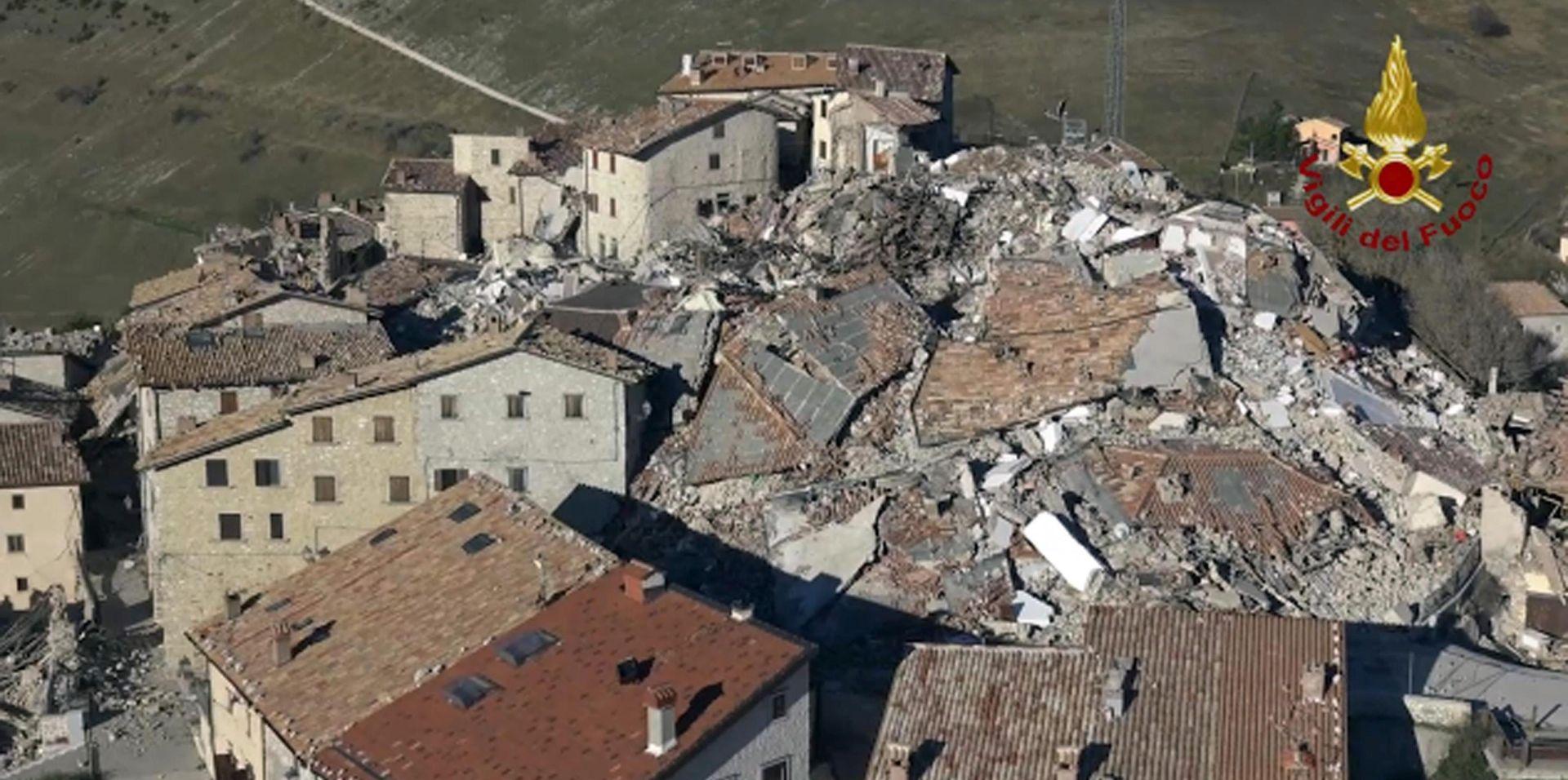 ITALIJA Više od 15 tisuća ljudi ostalo bez domova nakon potresa