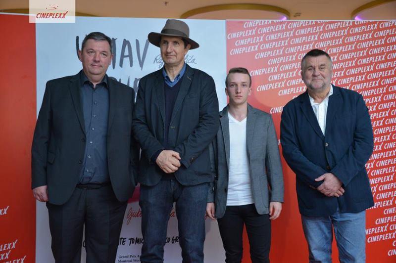 Ivan Maloča, Ante Tomić, Mladen Hren i Rajko Grlić