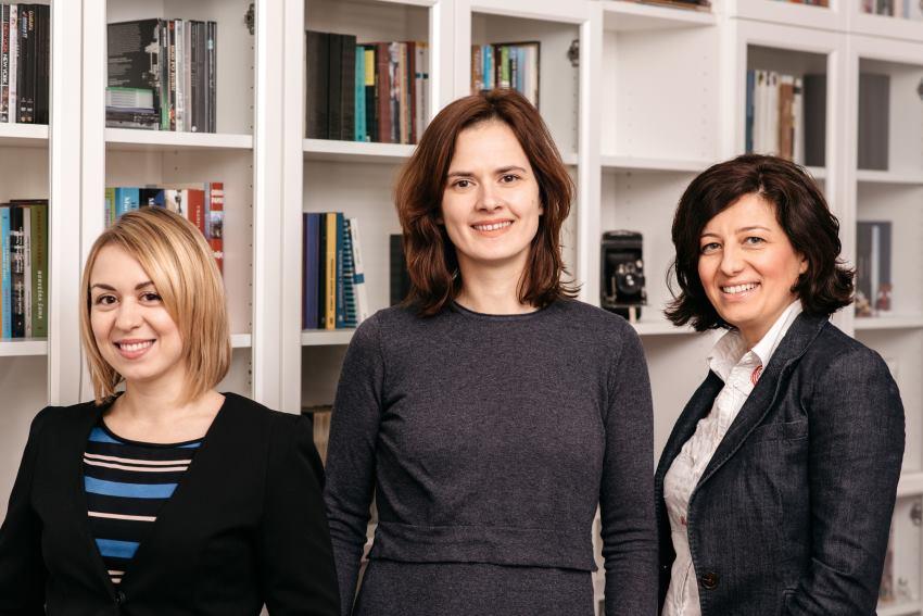 KLiKLOP team (Maja Profuntar, Ivana Bedenik, Irena Donaj)