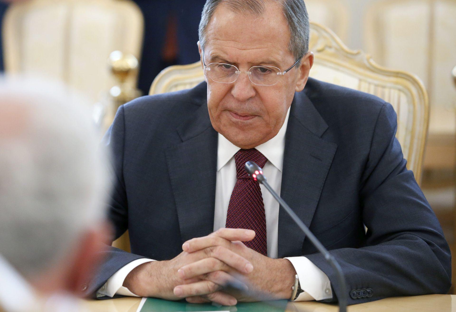 LAVROV: Nemamo posebnih očekivanja od sastanka o Siriji u Laussanei