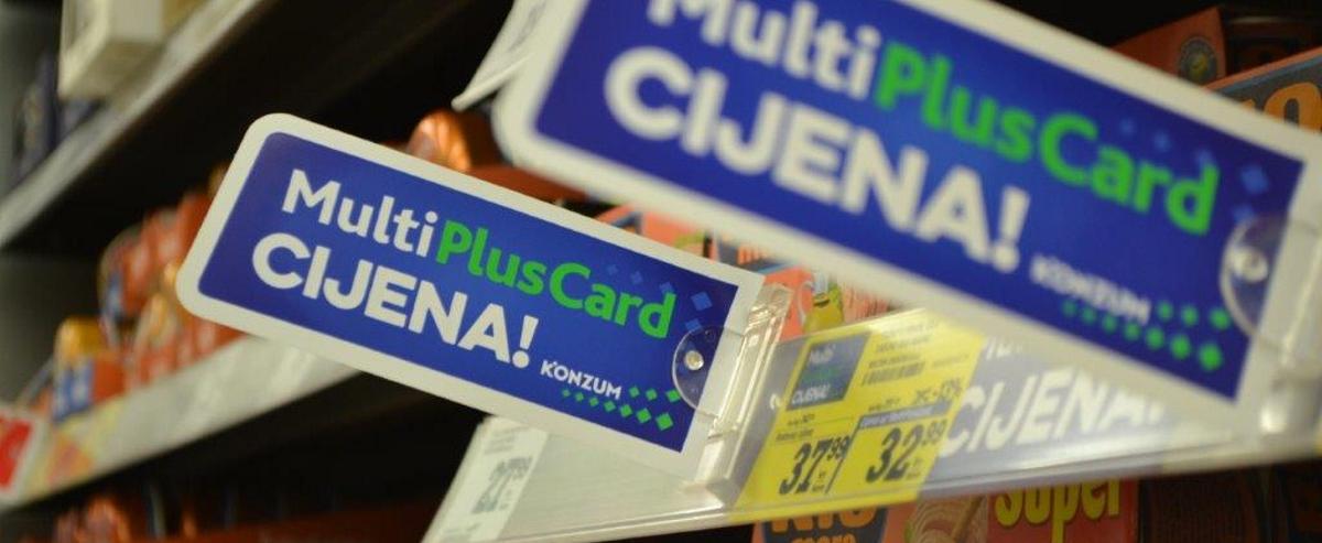 Novi veliki iskorak Konzuma i programa MultiPlusCard