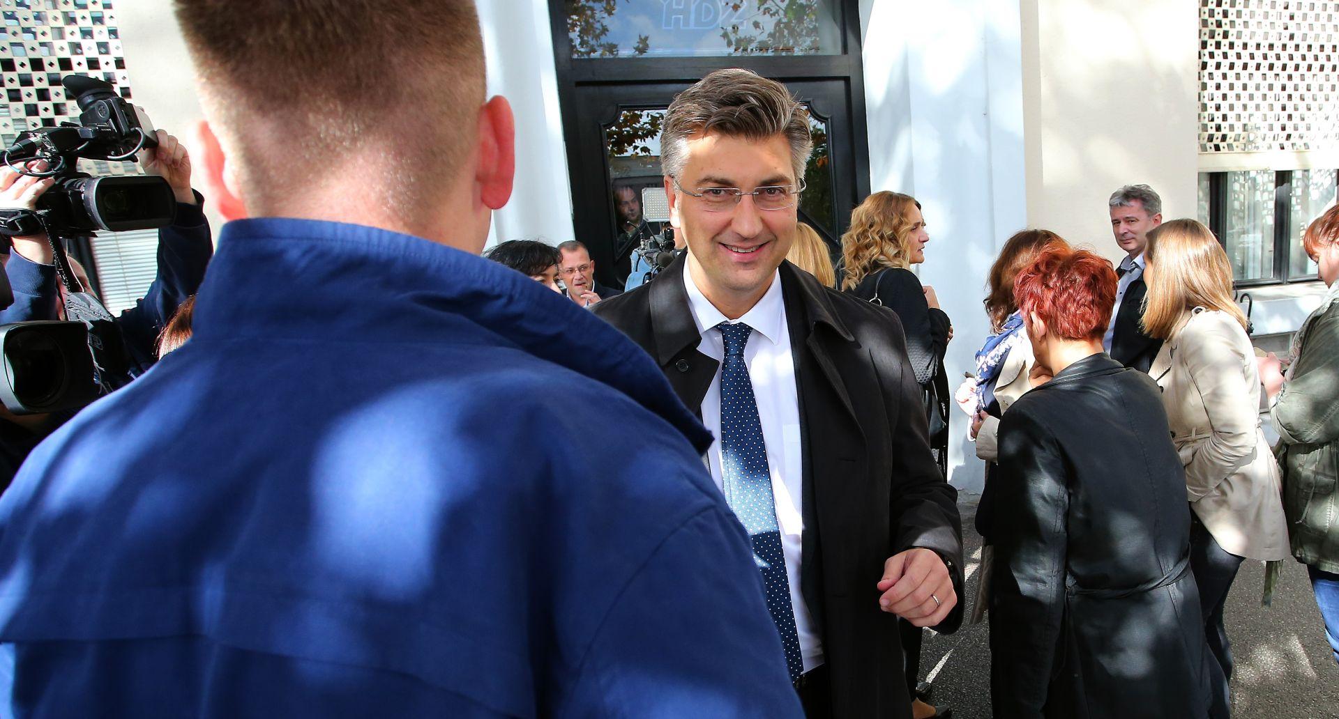 Plenković: Smatram da ćemo s Mostom naći razumno rješenje za izglasavanje vlade idući tjedan
