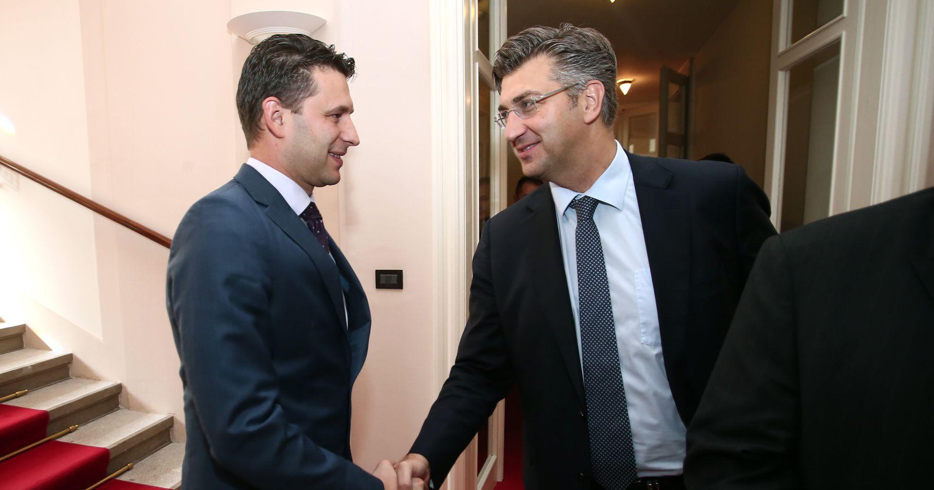 PLENKOVIĆ I PETROV Postignut kompromisni dogovor HDZ-a i Mosta o budućoj Vladi