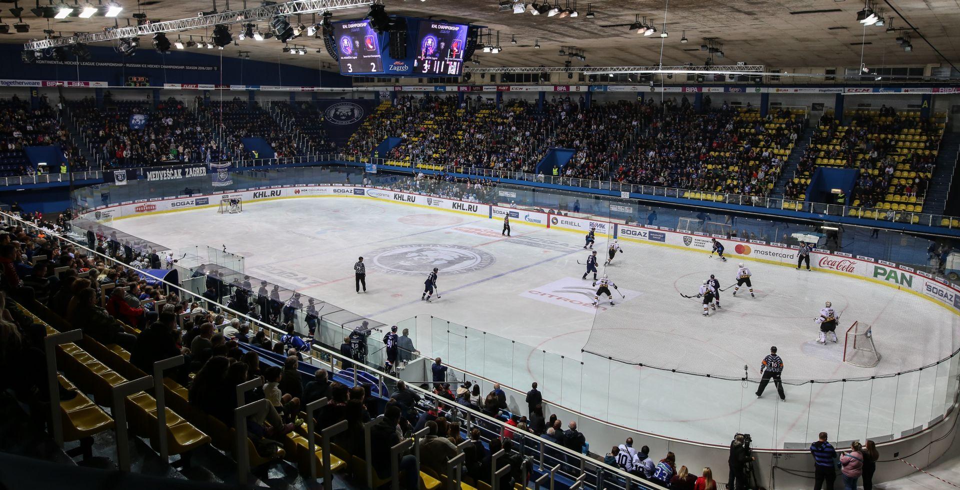 KHL Visoka pobjeda Medveščaka protiv Sjeverstala