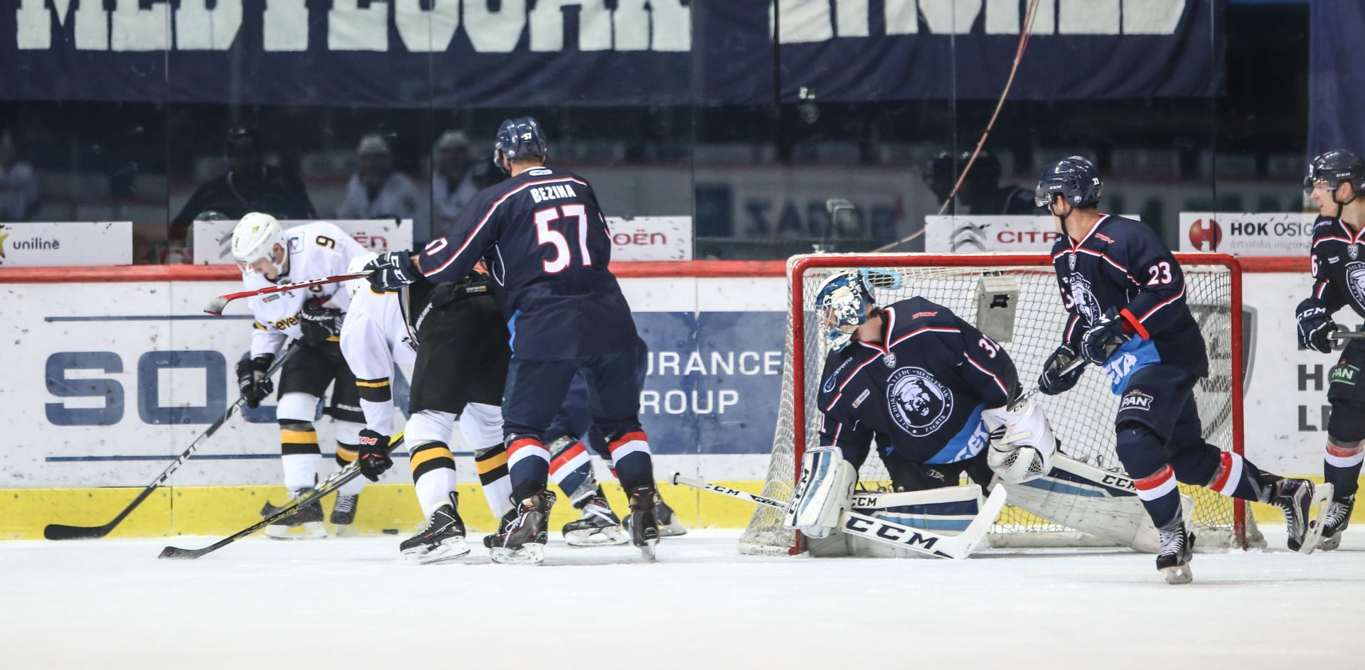 KHL Medveščak izgubio kod Vitjaza