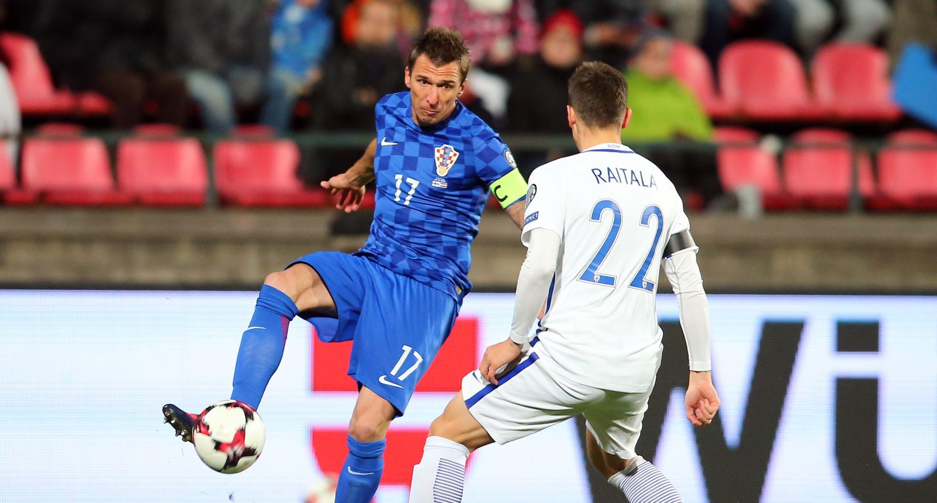 FOTO: CILJ JE POSTIGNUT Nije bilo prekrasno, ali i Finska je savladana, Mandžukić donio tri boda