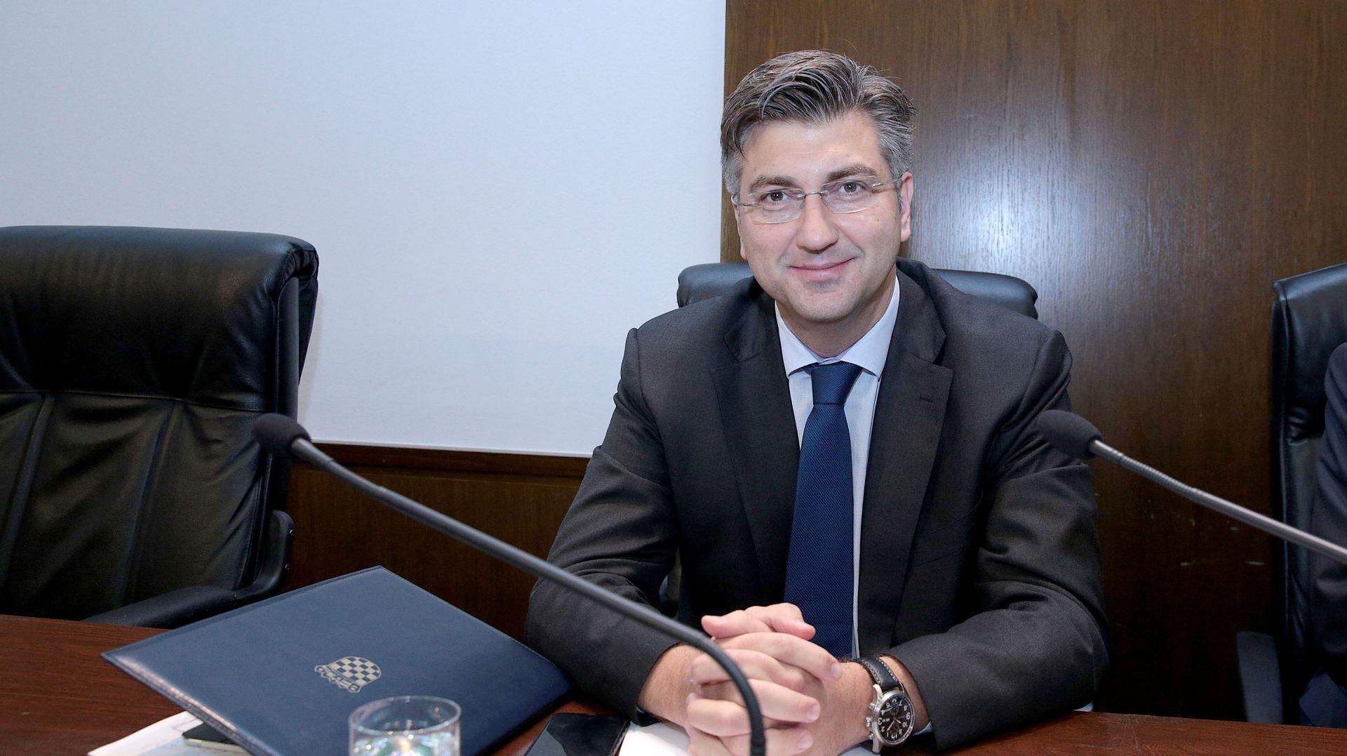 """DANAS POZNATA VLADA? Plenković: """"Imam sve ministre"""""""