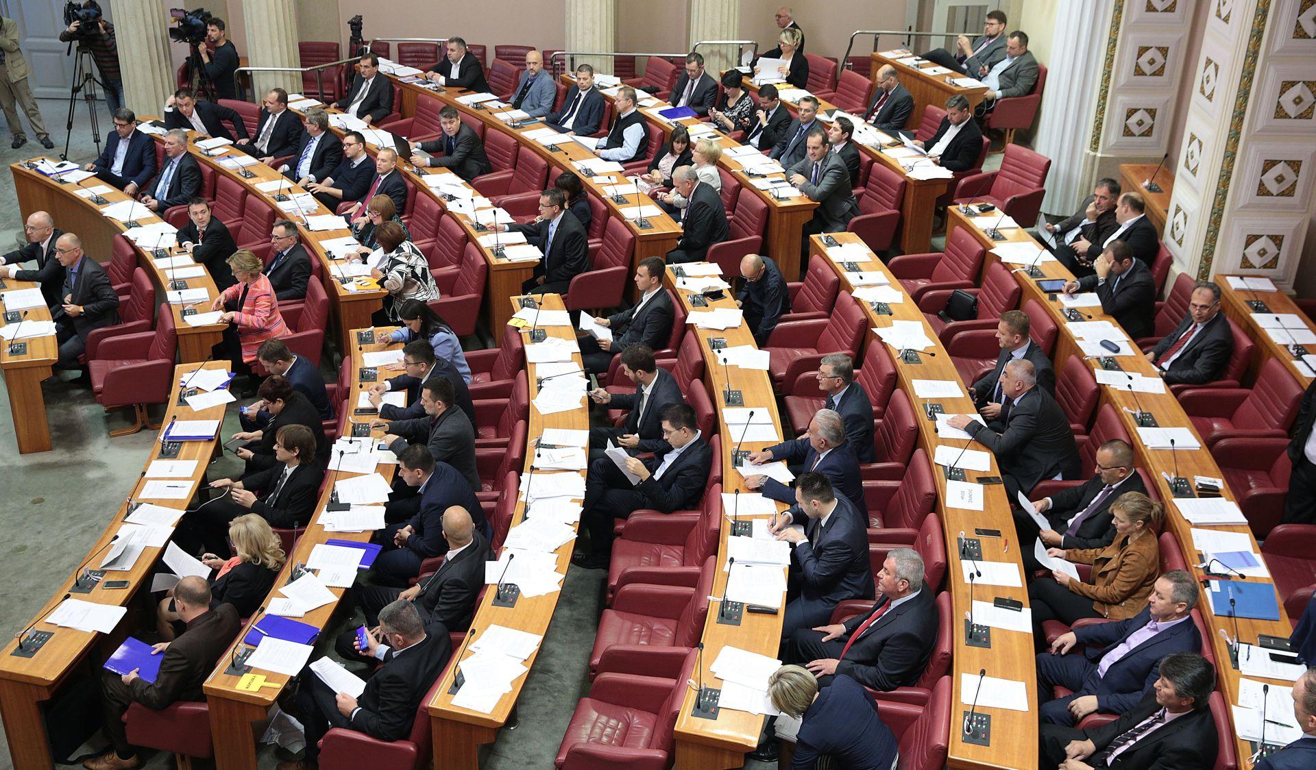 SJEDNICA SABORA Nakon stanki, otvorena rasprava o izmjeni Zakona o HRT-u