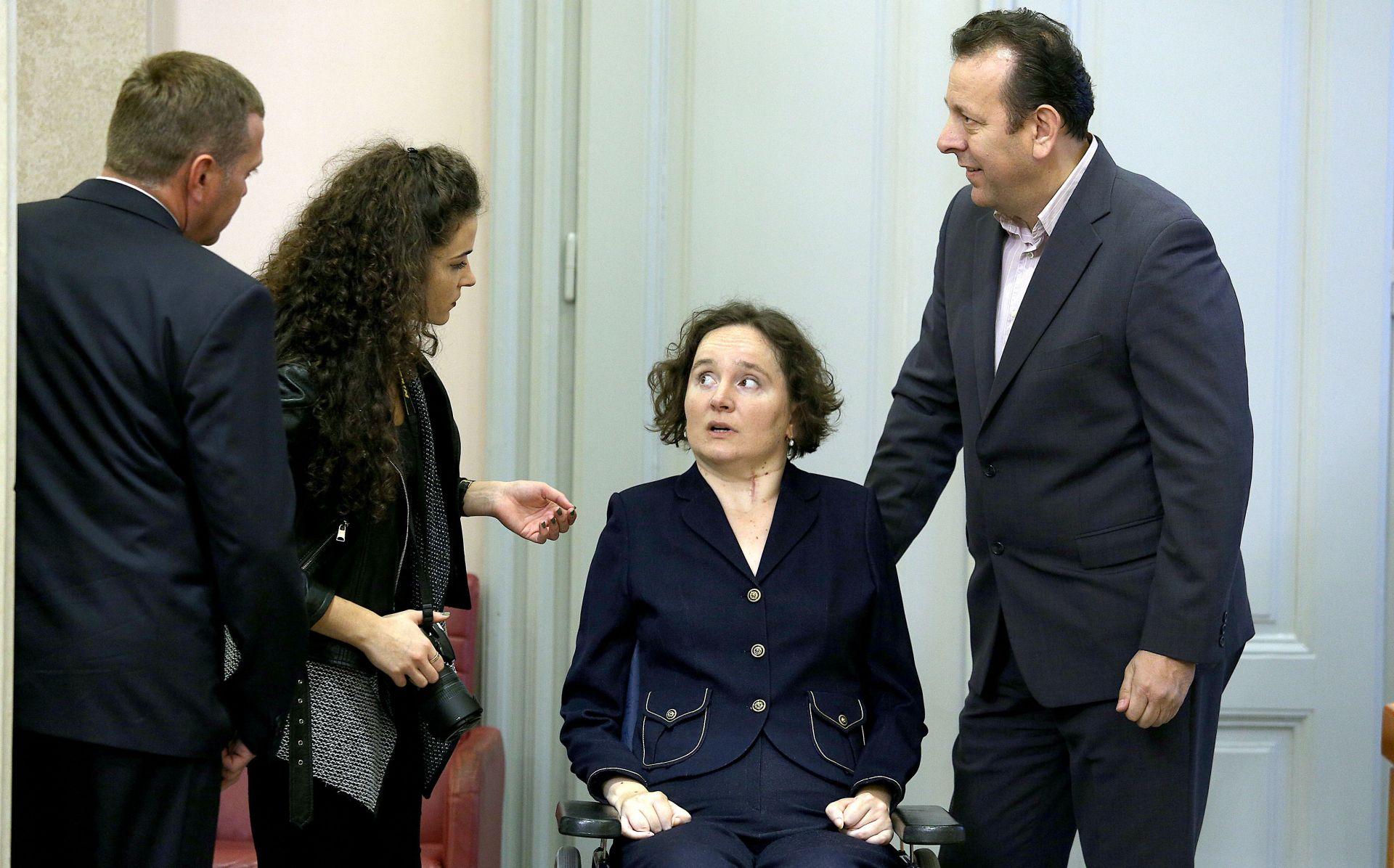 Slonjšak ponovno prisegnula na mandat pravobraniteljice za osobe s invaliditetom