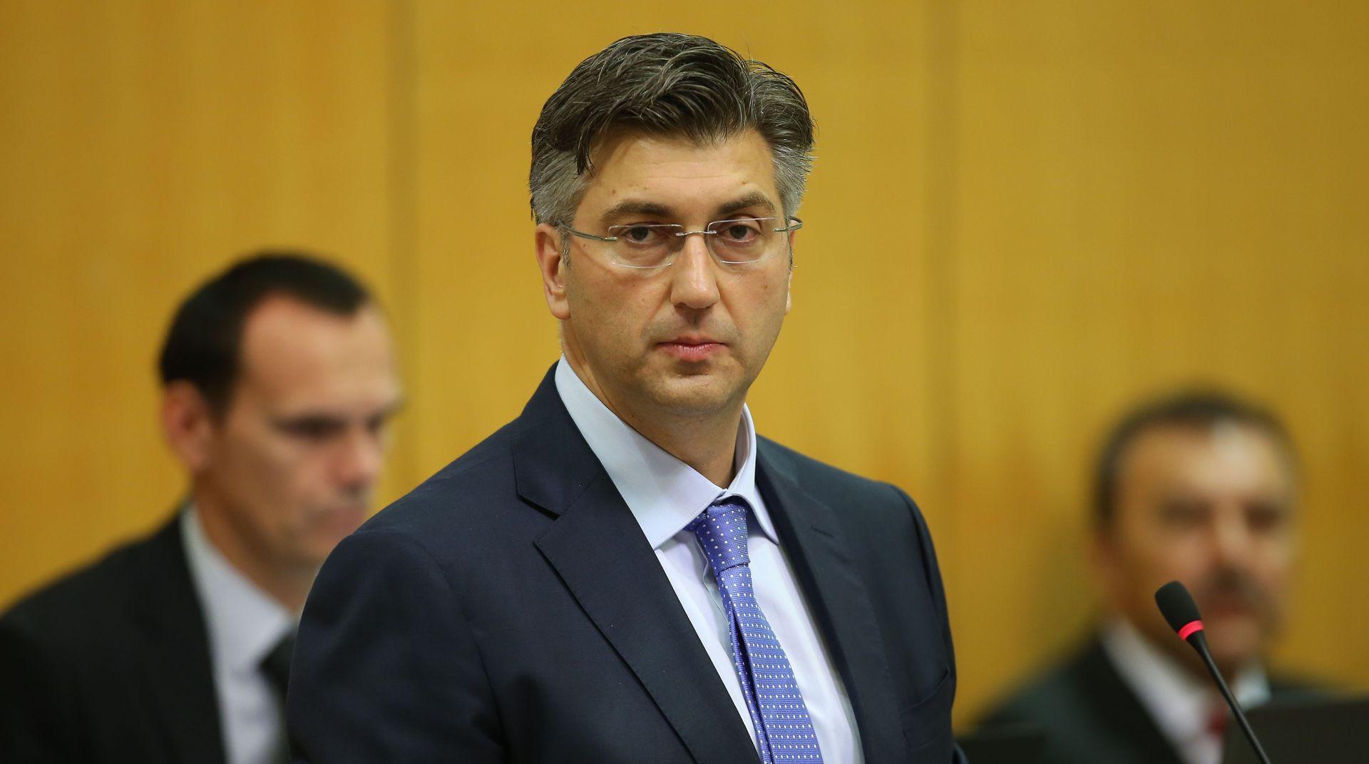 """PLENKOVIĆEV GOVOR """"Za sve što ne bude dobro prije svega ću odgovornost preuzeti ja kao predsjednik vlade"""""""