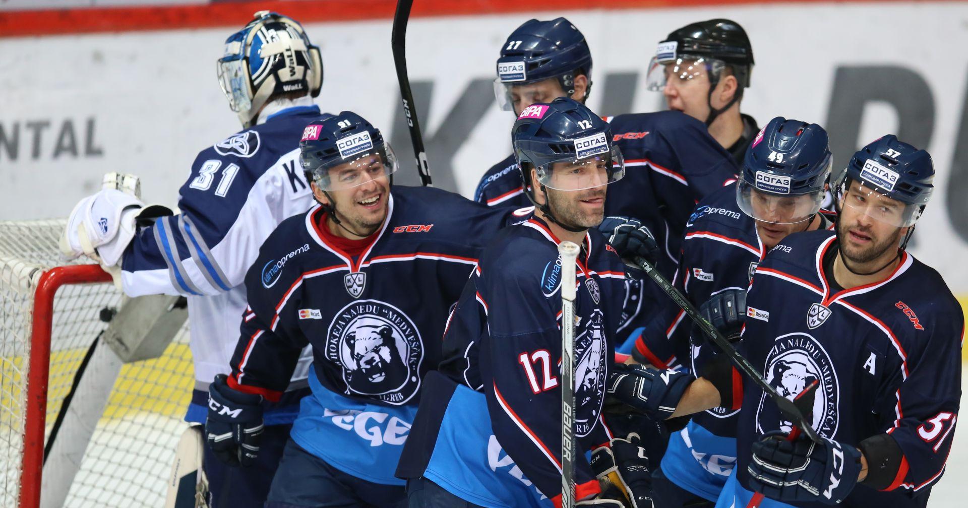 KHL Druga uzastopna pobjeda Medveščaka, u Domu sportova slavili protiv Neftehimika