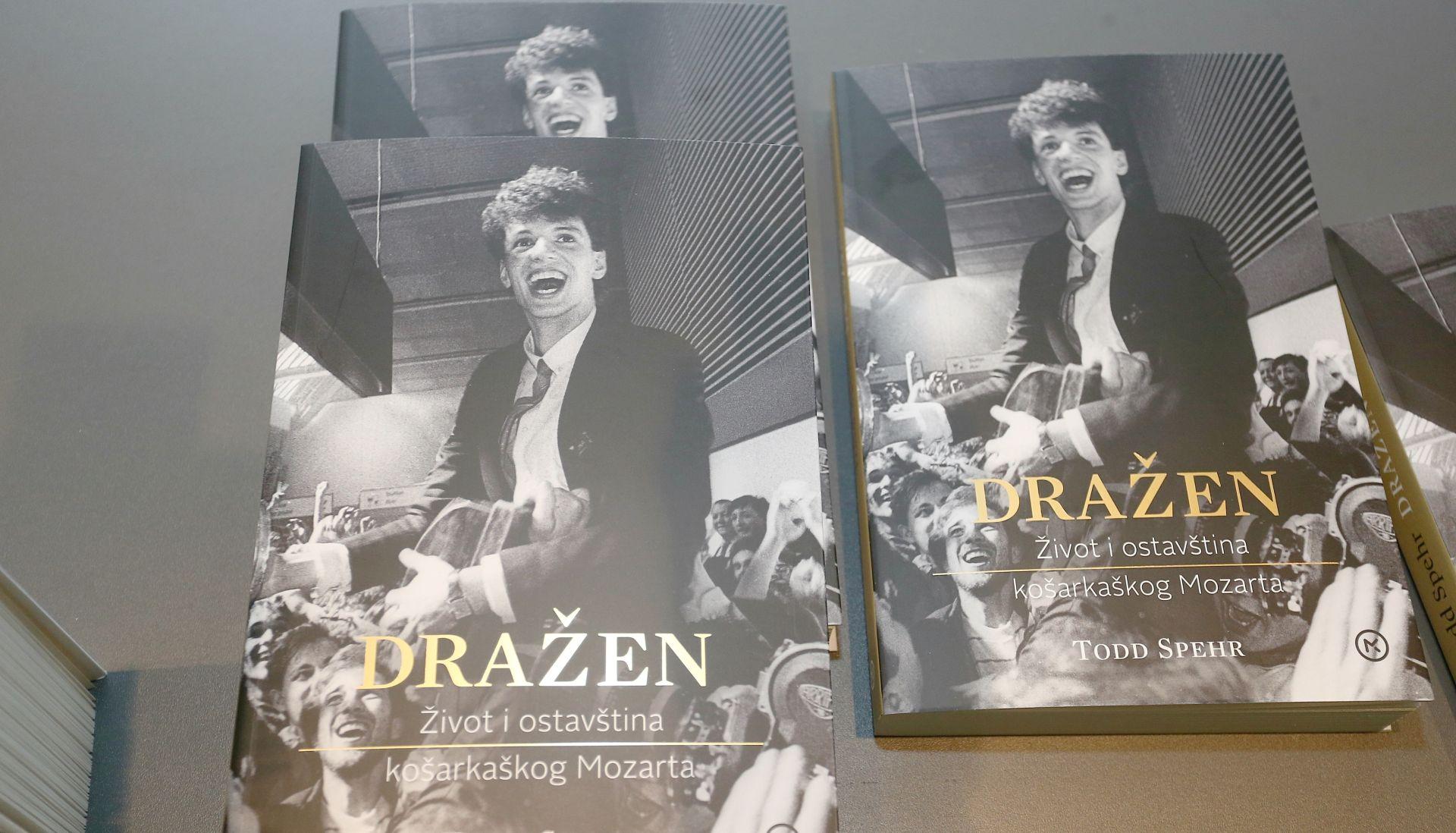 """Predstavljeno hrvatsko izdanje knjige """"Dražen – život i ostavština košarkaškog Mozarta"""""""