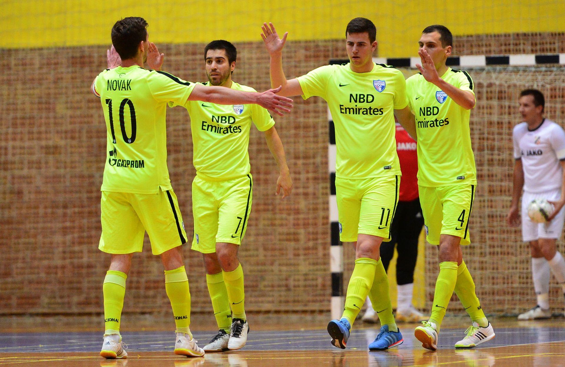 FUTSAL Nacional napunio mrežu Grka i osigurao Elitno kolo Lige prvaka