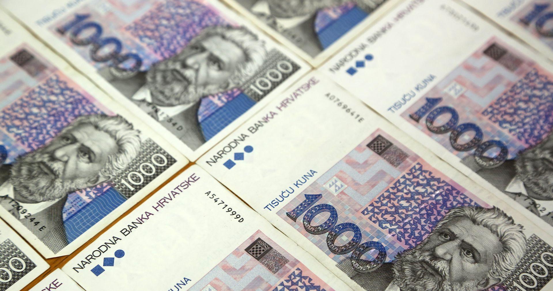 DZS Prosječna neto plaća za kolovoz 5.673 kune
