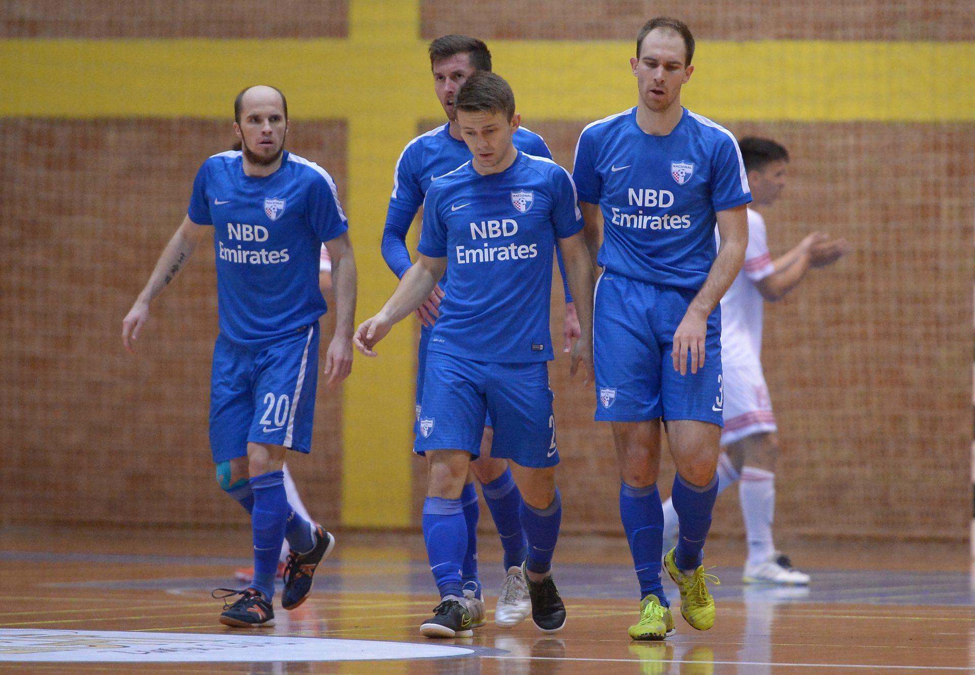 UEFA FUTSAL CUP Nacional slavio protiv Lida, na korak od Lige prvaka