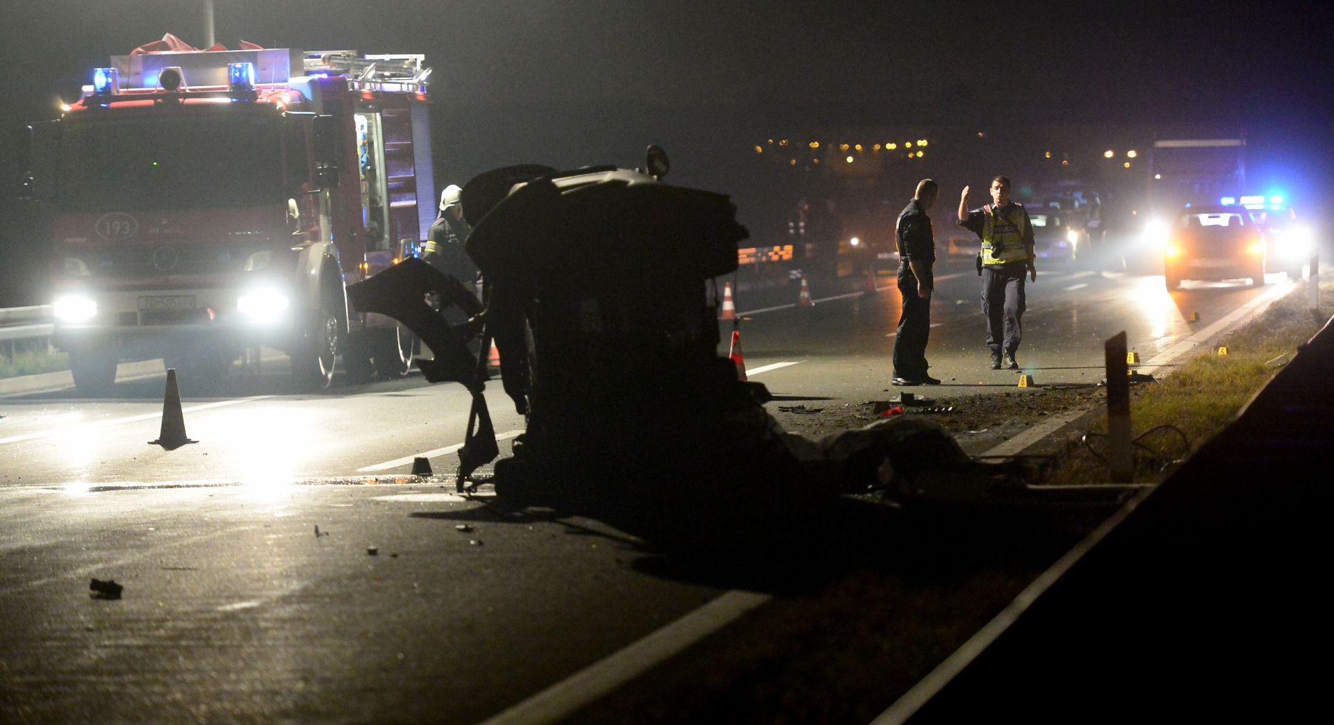NOVA TEŠKA NESREĆA Na autocesti A3 poginula dva muškarca
