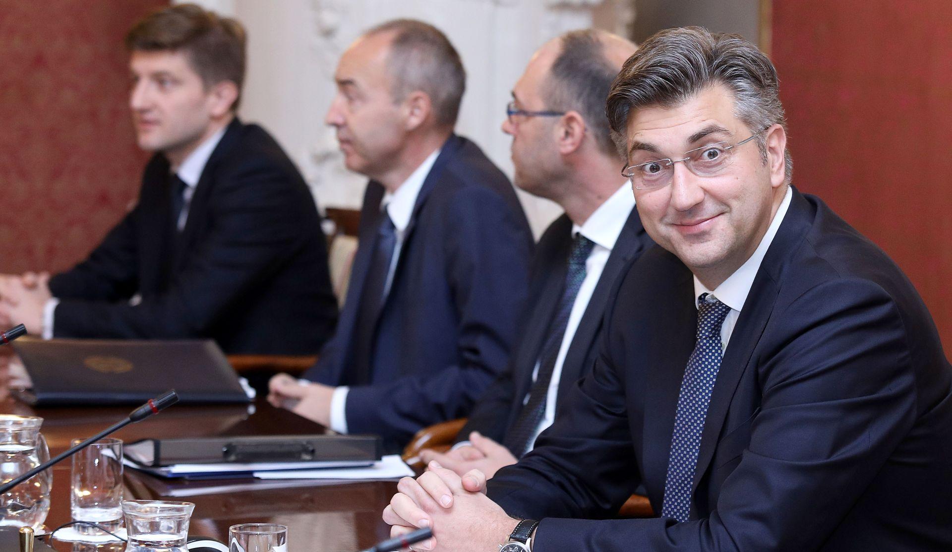 BANSKI DVORI Goran Marić ostaje ministar, sastanak Plenkovića s ministrima