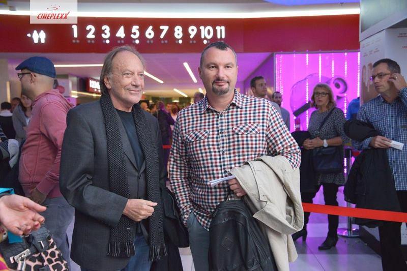 Reditelj Goran Paskaljević i direktor Filmskog centra Srbije. Boban Jevtić