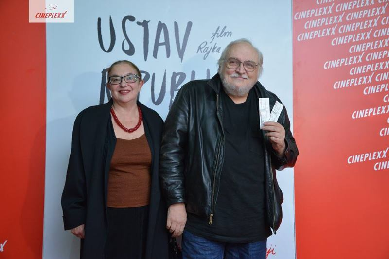 Reditelj Slobodan Šijan sa suprugom