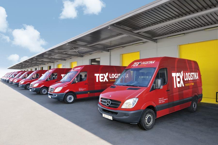 TEX logistika ima veliki vozni park od 650 dostavnih vozila