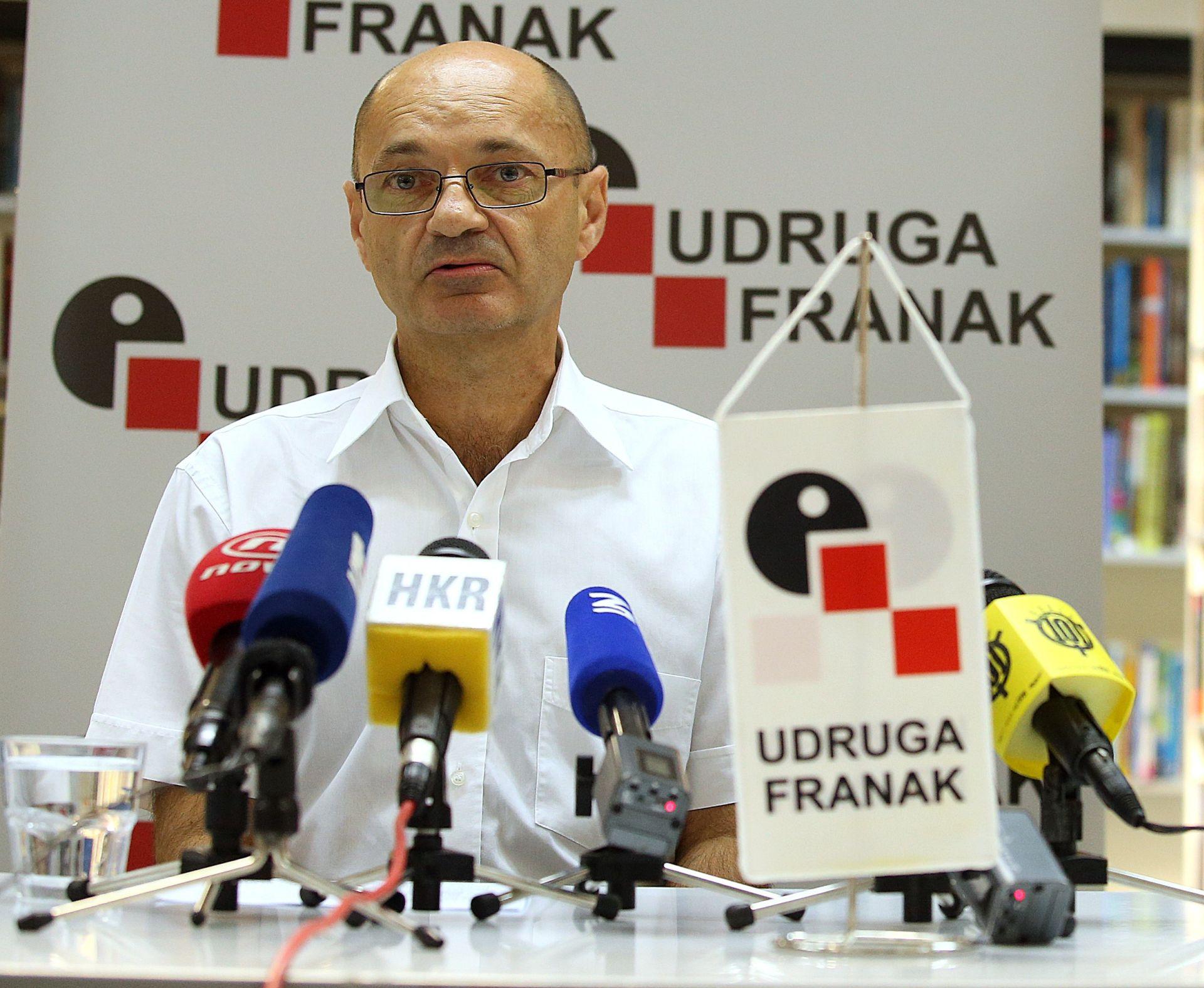 GORAN ALEKSIĆ: 'Uskoro će Udruga Franak uputiti predstavku DORH-u zbog banaka'