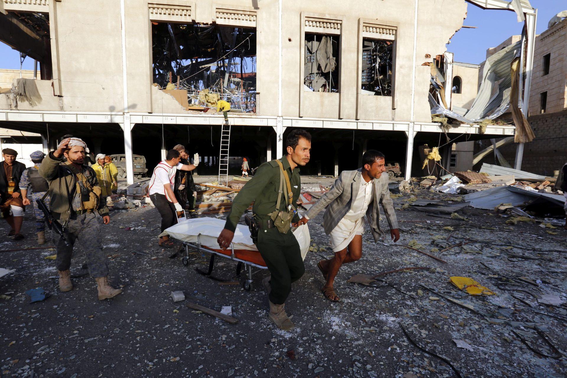 NAKON NAPADA  U SANI: Arapska koalicija poziva SAD u istragu