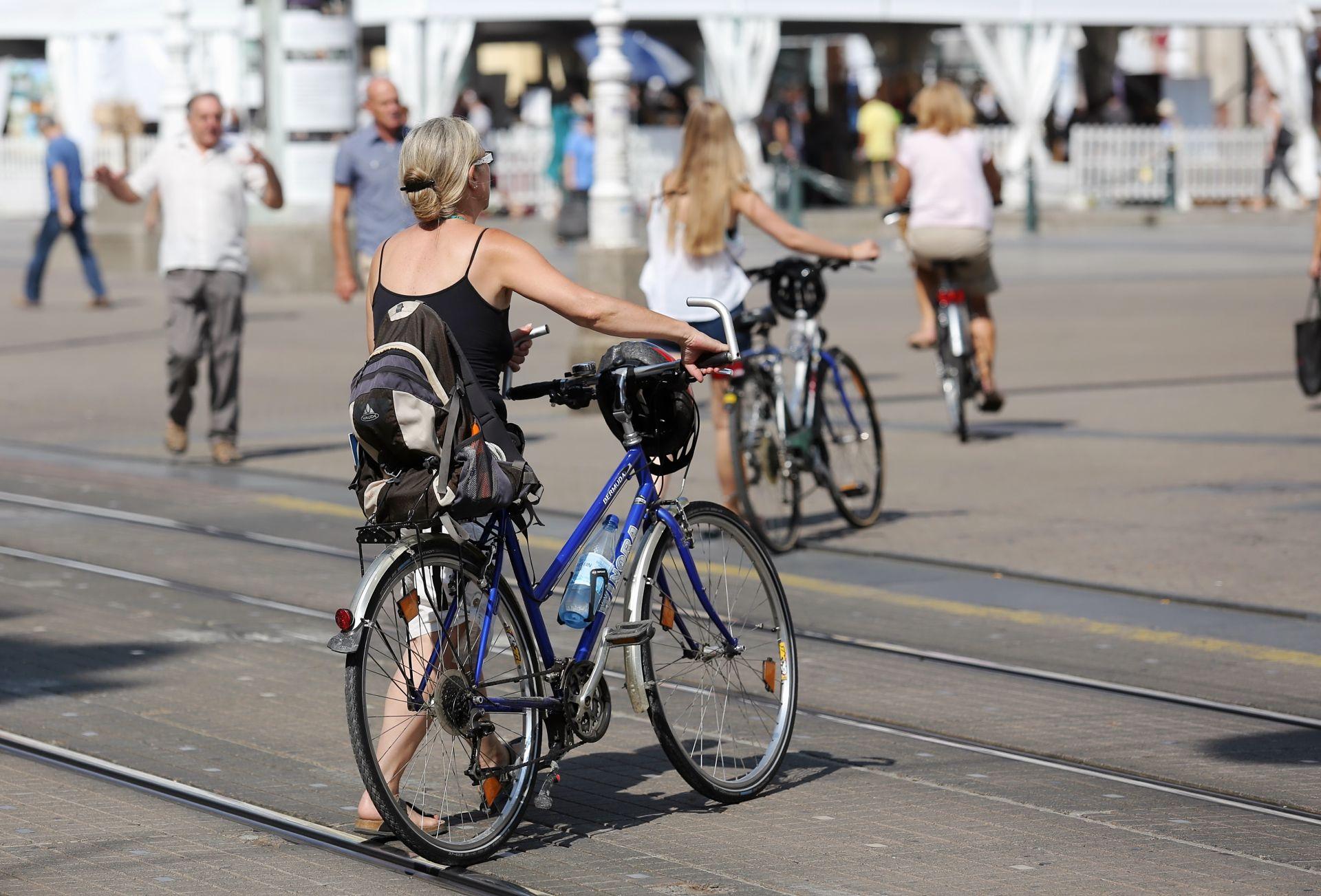 UDARIO PJEŠAKINJU: Biciklist dobio pet mjeseci zatvora