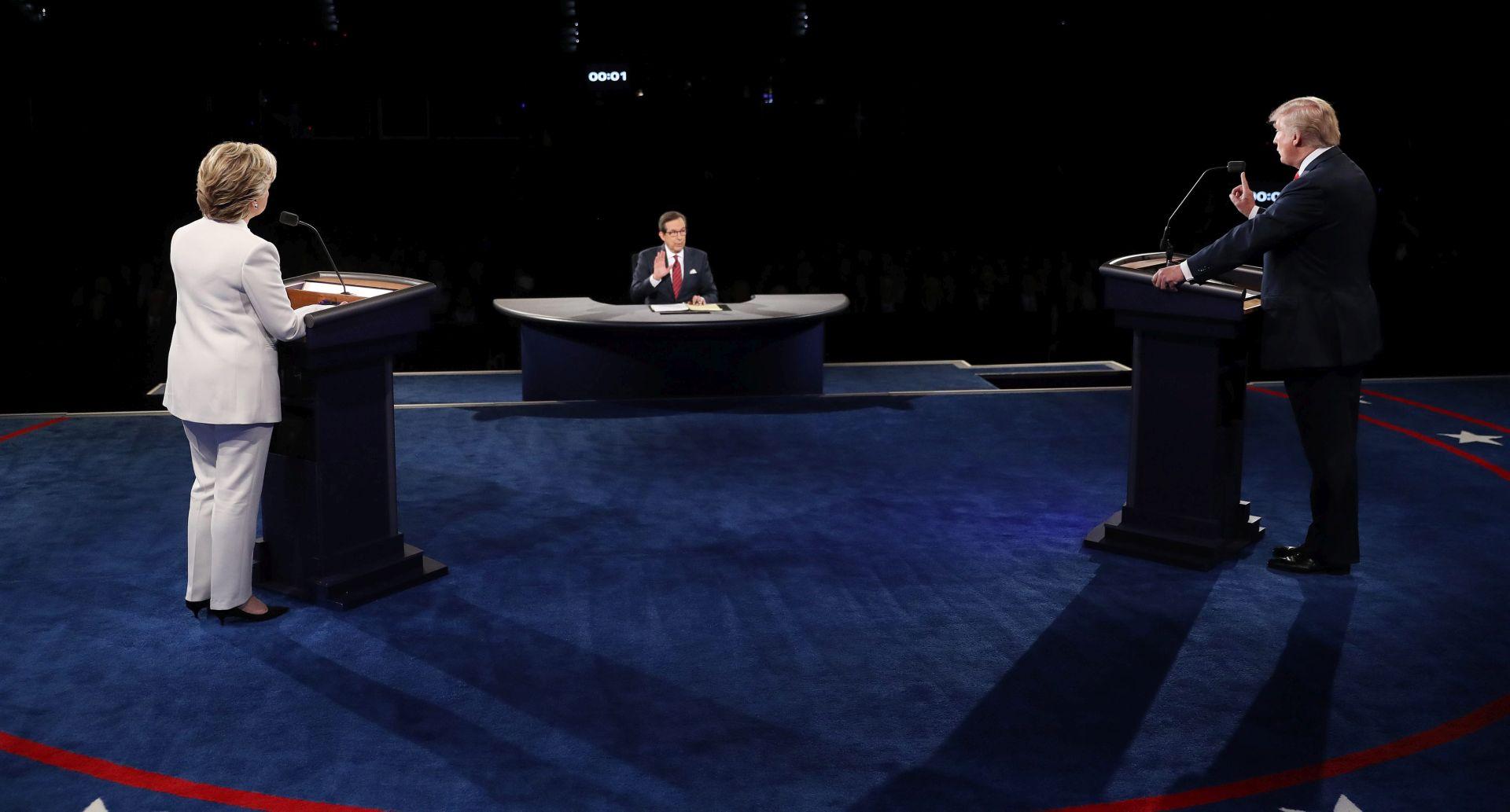 OŠTRE REAKCIJE: Na posljednjoj debati Trump nije želio reći da će priznati rezultate izbora