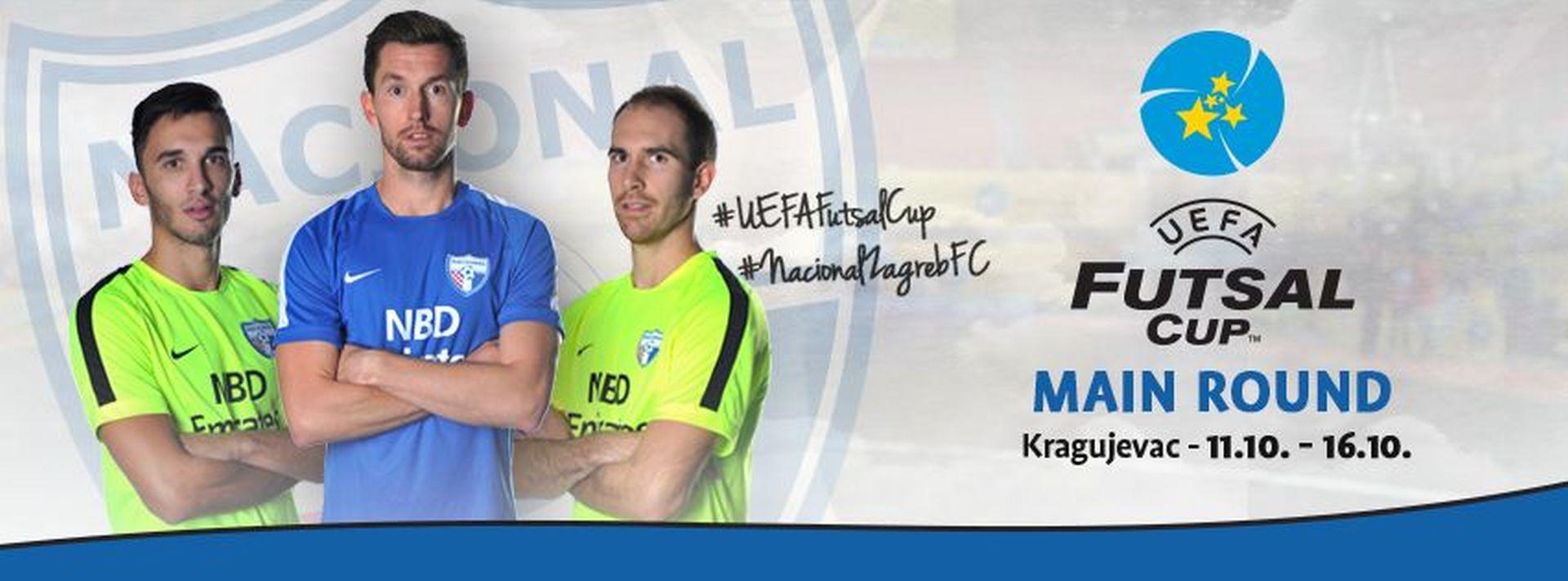LIVESTREAM OD 20:30 SATI: UEFA Futsal Cup: Nacional protiv Ekonomca za 'kralja Balkana'