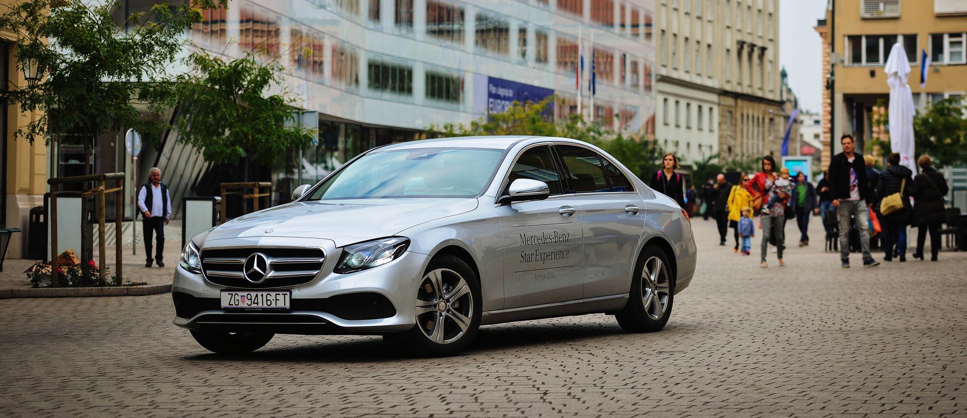 TEST Revolucija desete generacije: Mercedes E220d Edition 1