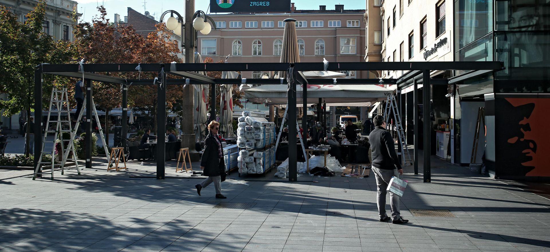 CVJETNI TRG: U 18 sati zakazan prosvjed protiv otvaranja nove terase