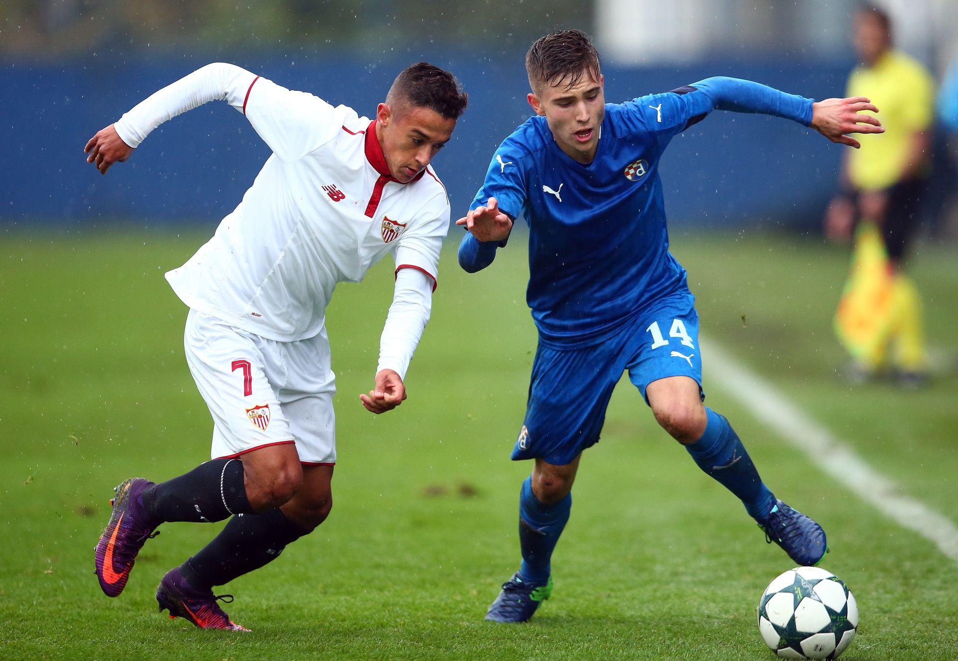 LP MLADIH: Dinamo – Sevilla 2:4