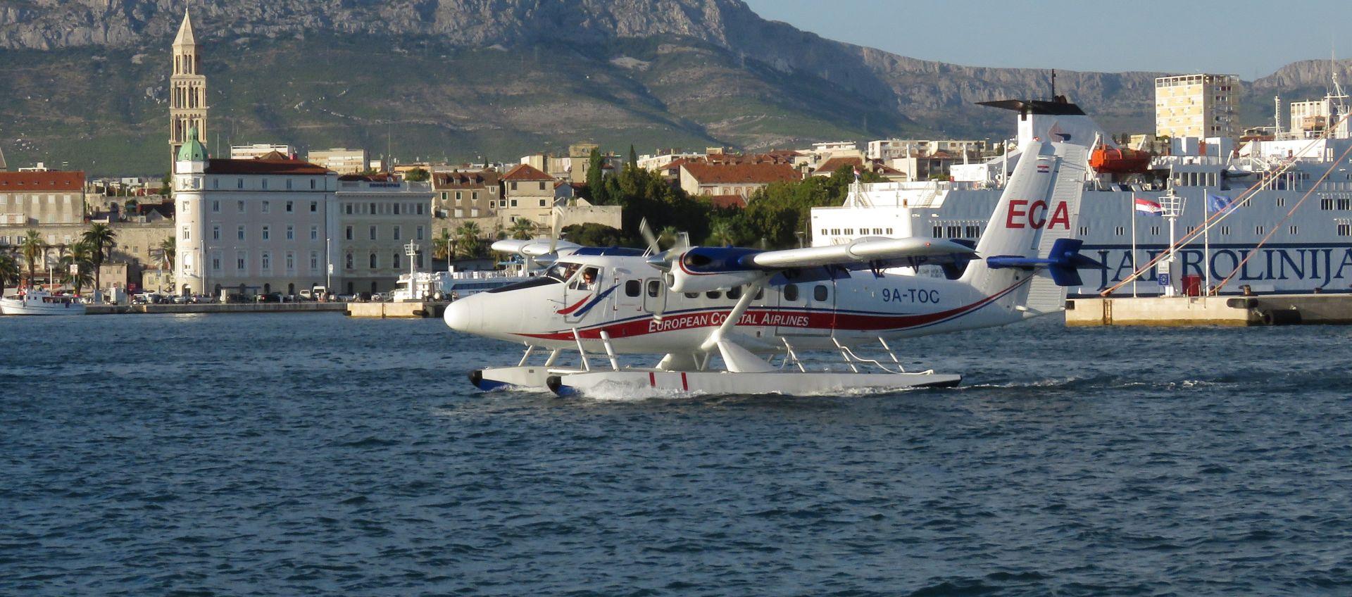 Dioničari ECA-e odlučili obustaviti letove hidroaviona u RH do daljnjega