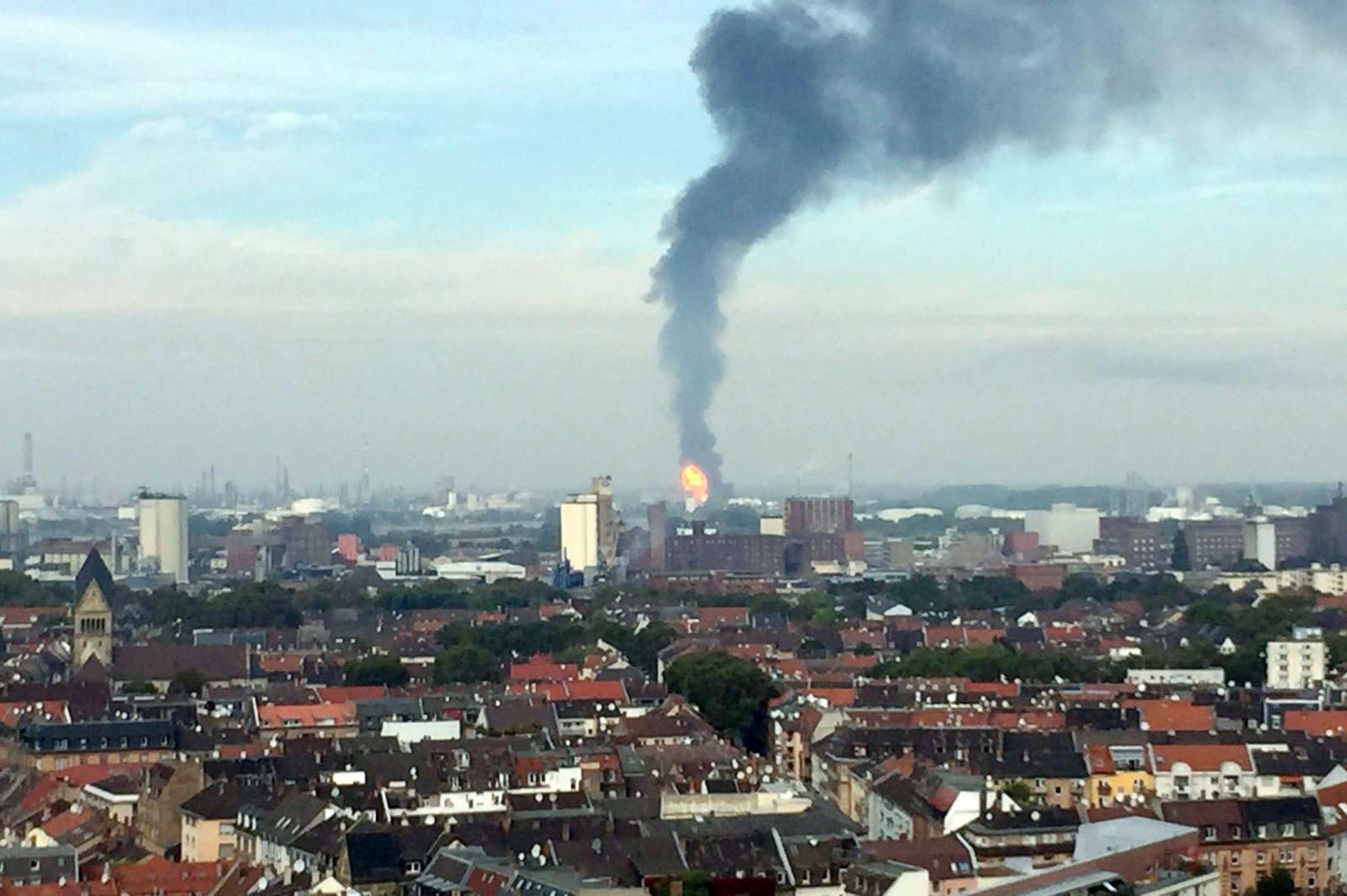 U eksploziji u BASF-u više nestalih i ranjenih
