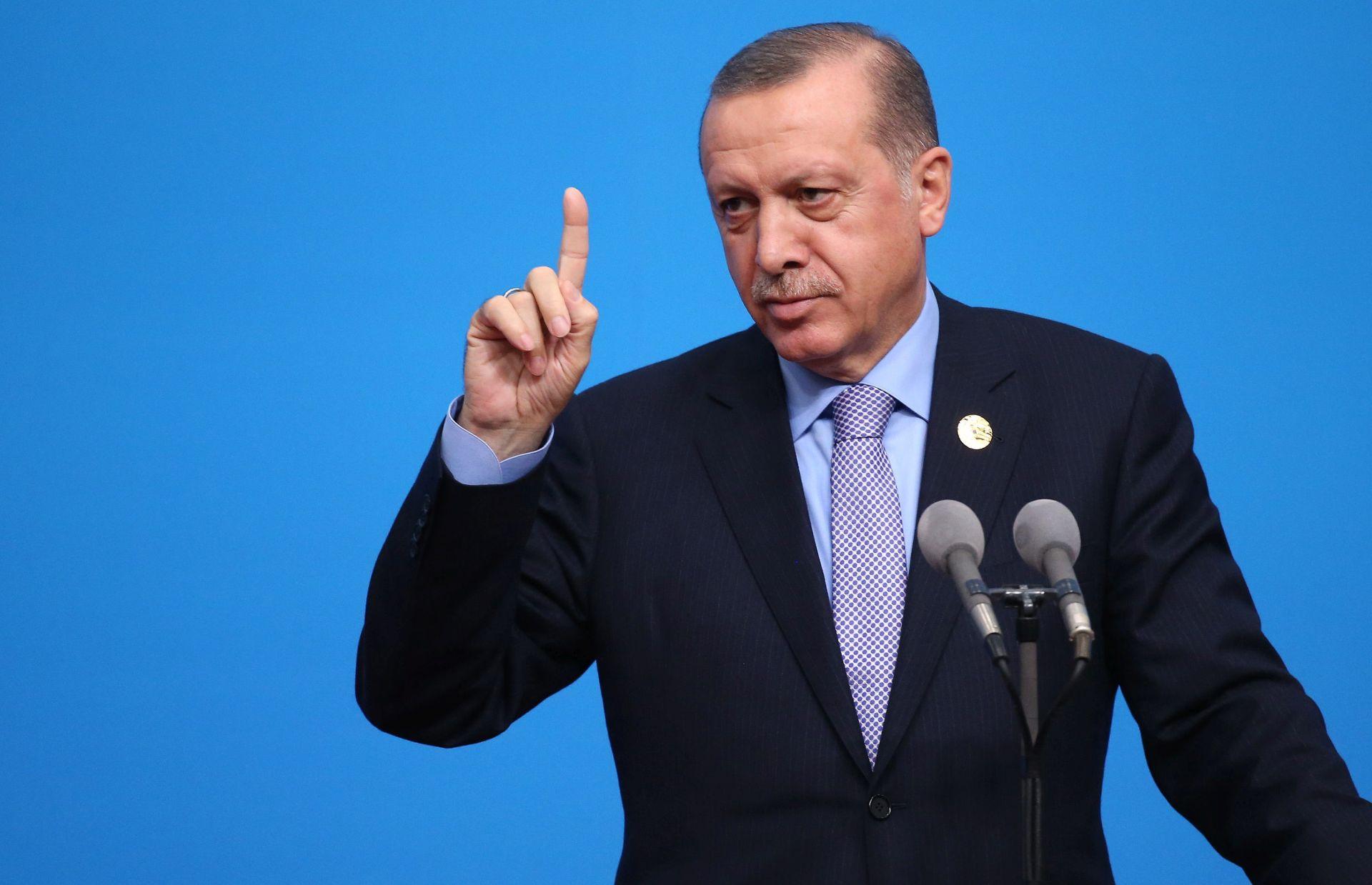 Erdogan doputovao u Sarajevo, prate ga jake mjere osiguranja