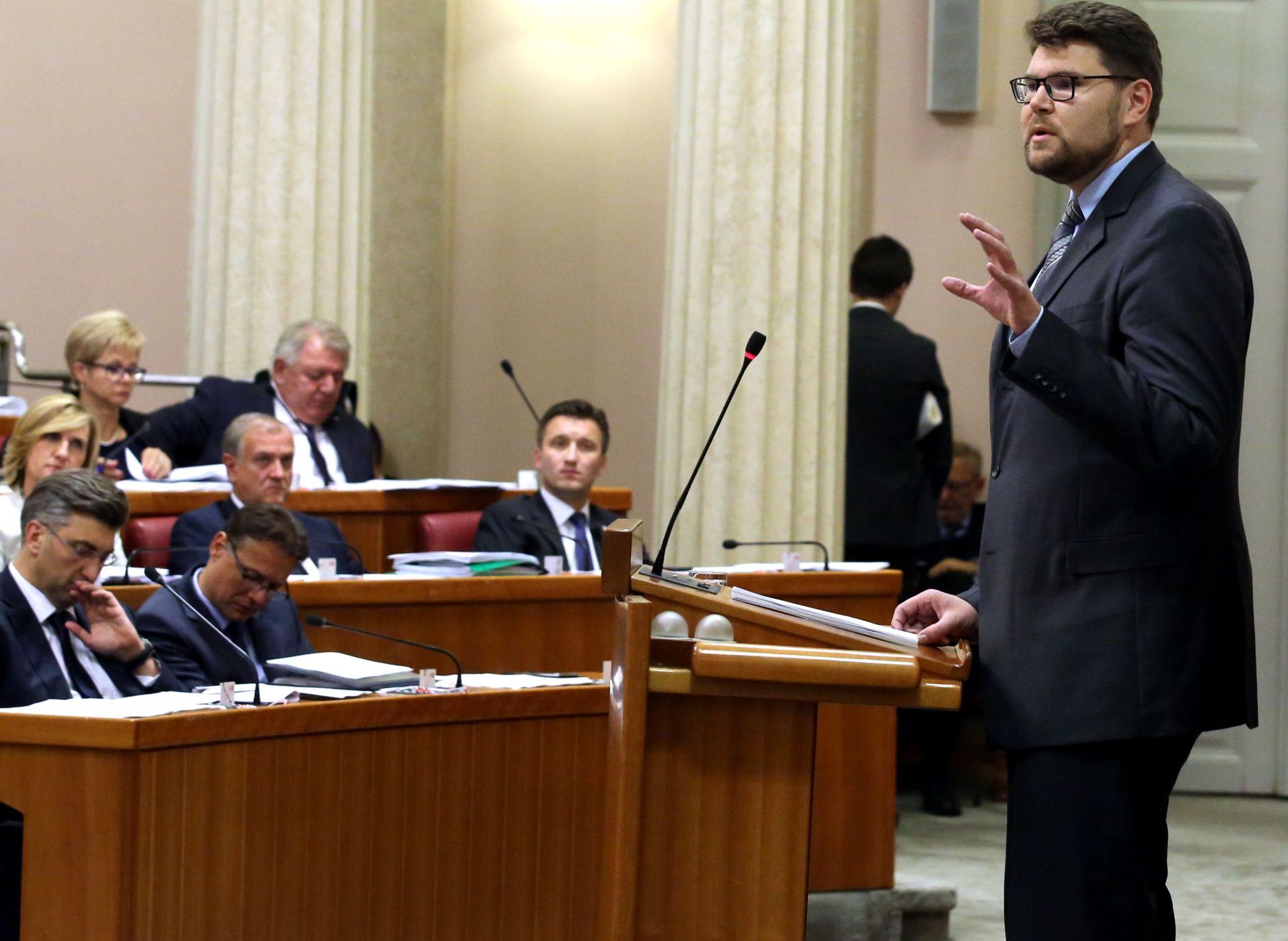 Sabor ograničio pravo na naknadu plaće dužnosnika po isteku mandata