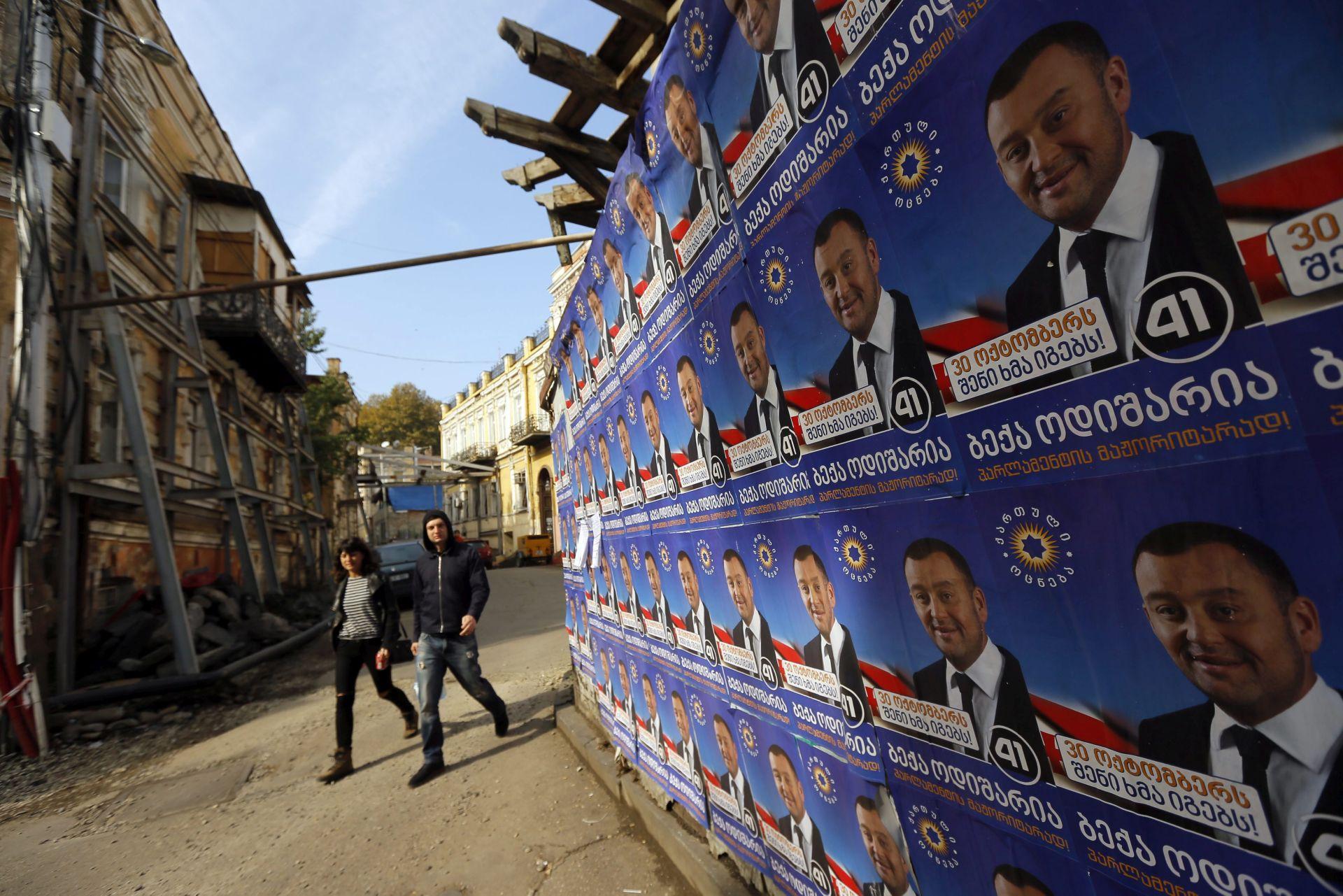PARLAMENTARNI IZBORI: Gruzijska vladajuća stranka pobjeđuje