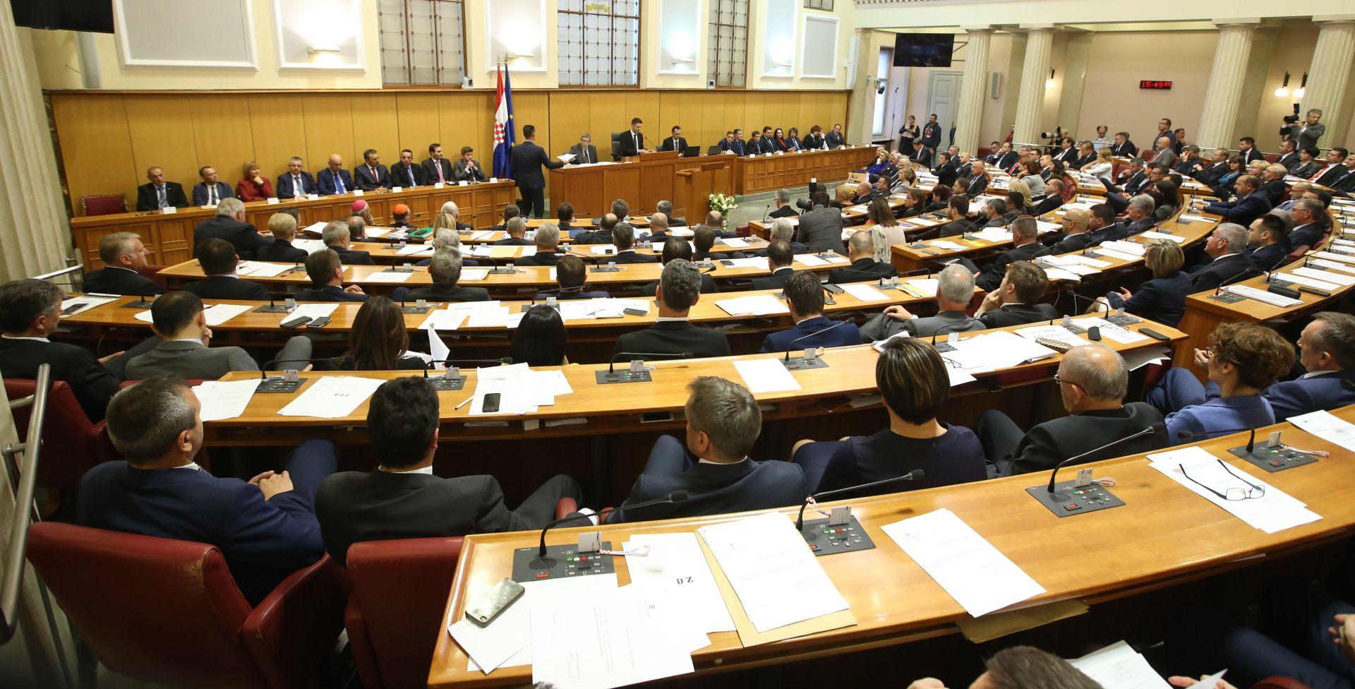 Sabor nastavlja zasjedanje raspravom o dopuni Zakona o lokalnim izborima