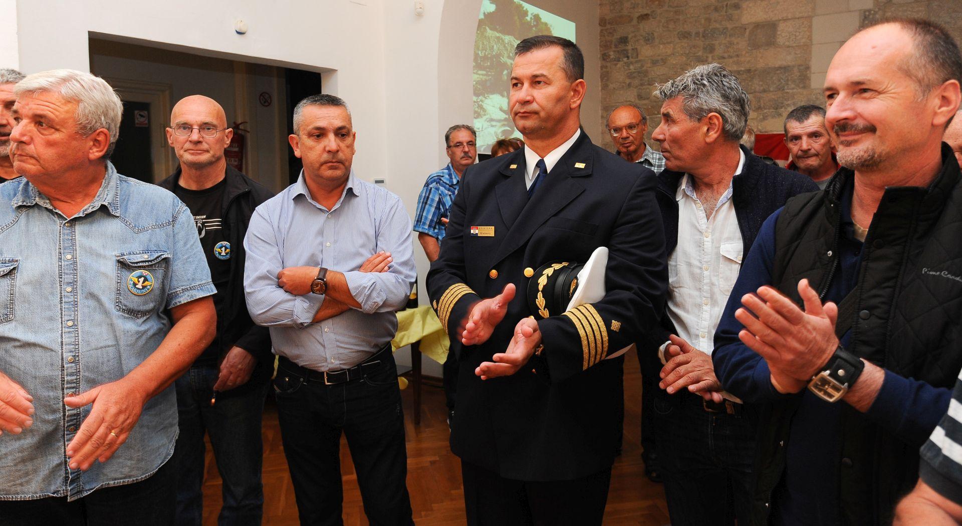 """Proslavljena 25. obljetnica osnutka 1. obalno-topničke bitnice """"Kašjuni"""""""