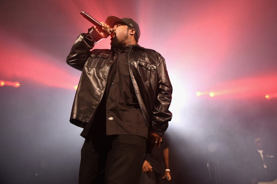 Ice Cube tokom nastupa